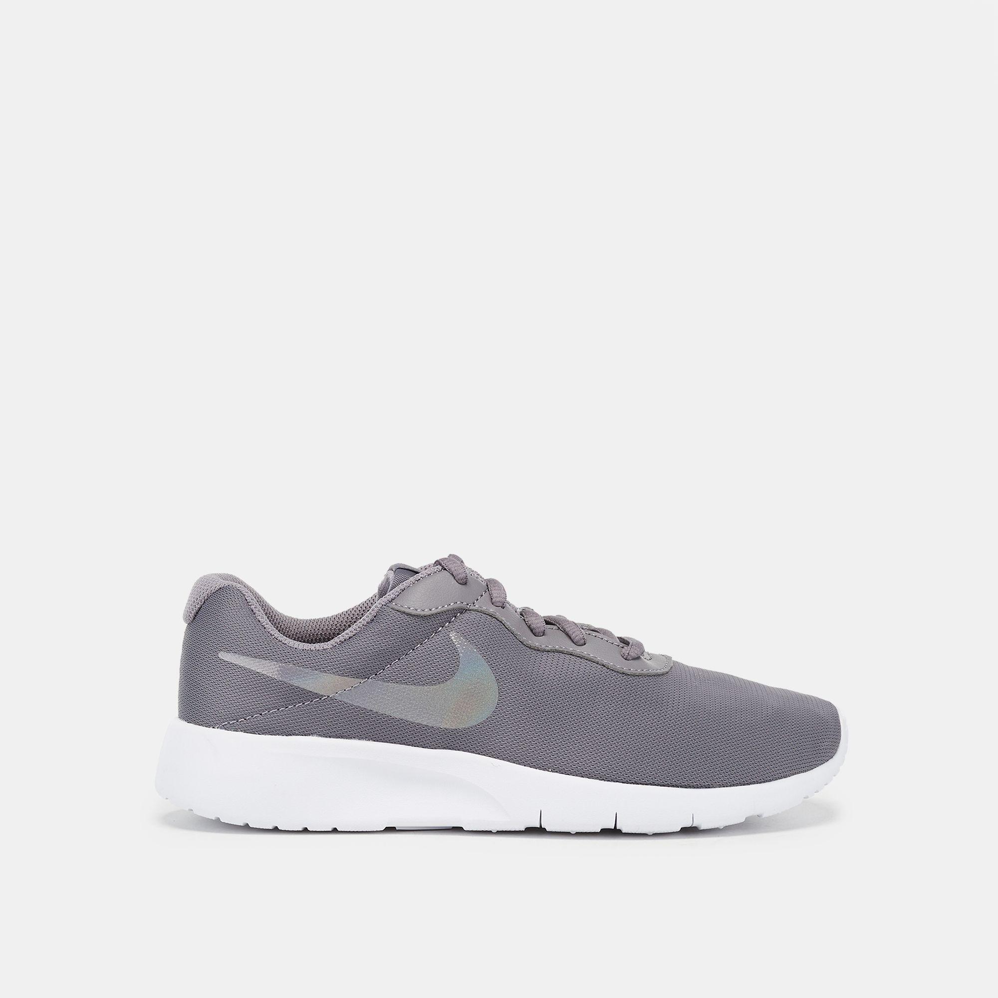 67f7eeb19d2e2 Shop Grey Nike Tanjun Grade School Shoe | Sneakers | Shoes | Sports ...