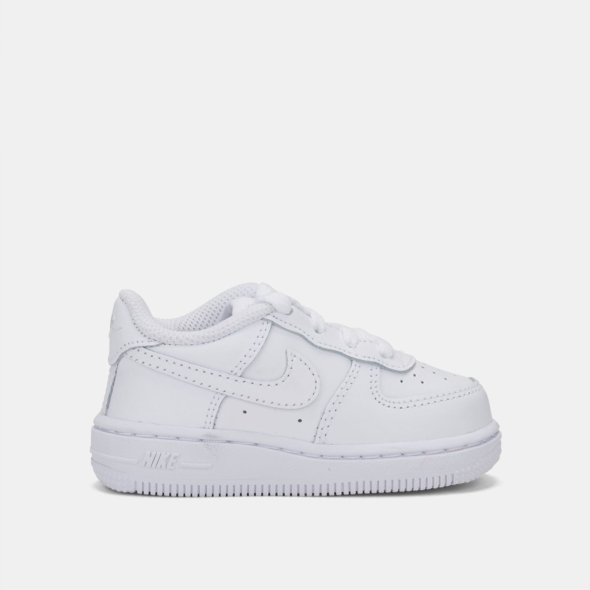 c5ea93bd44 Shop White Nike Kids' Air Force 1 Shoe (Toddler) for Kids by Nike | SSS