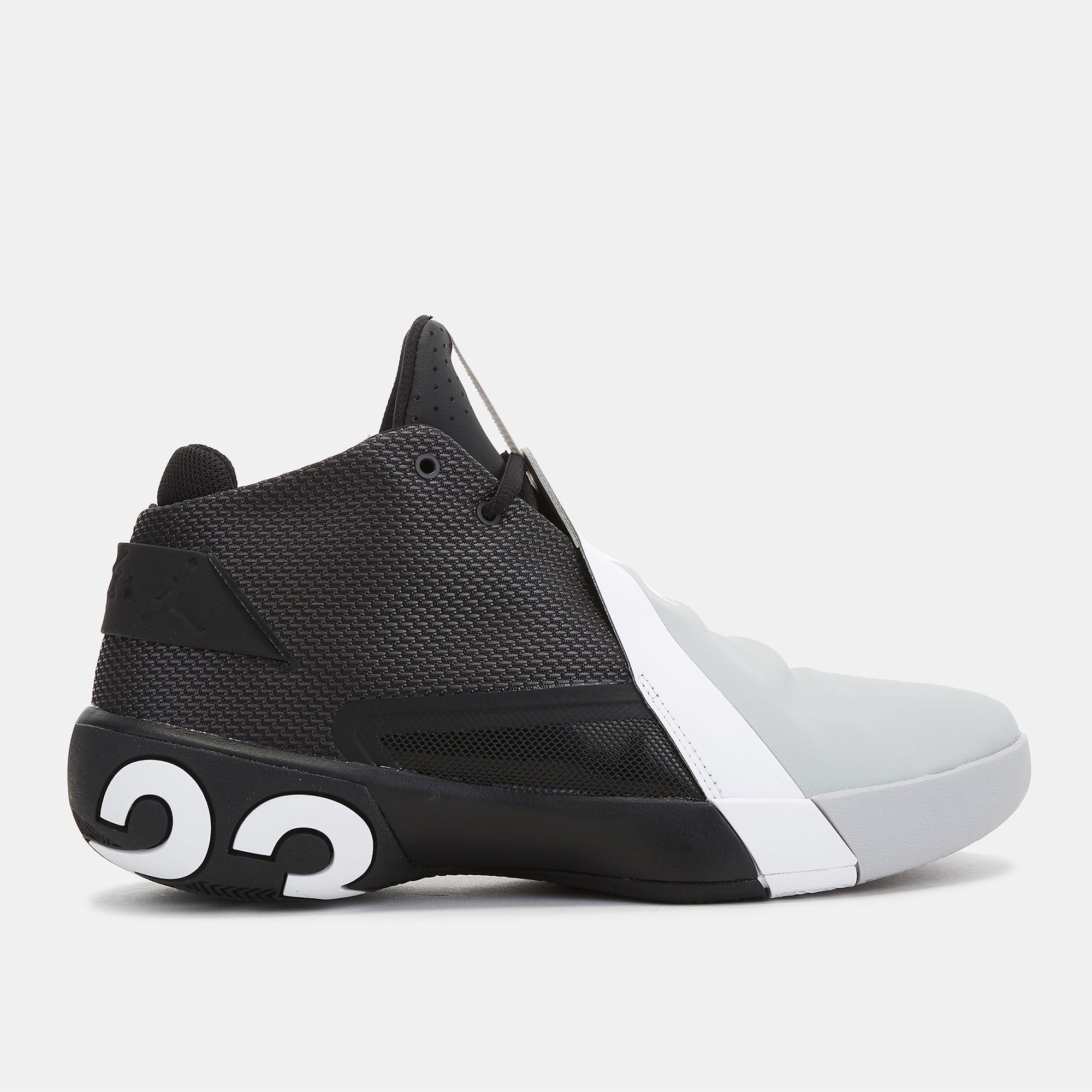 Grey Jordan Ultra.Fly 3 Basketball Shoe  87564892d303