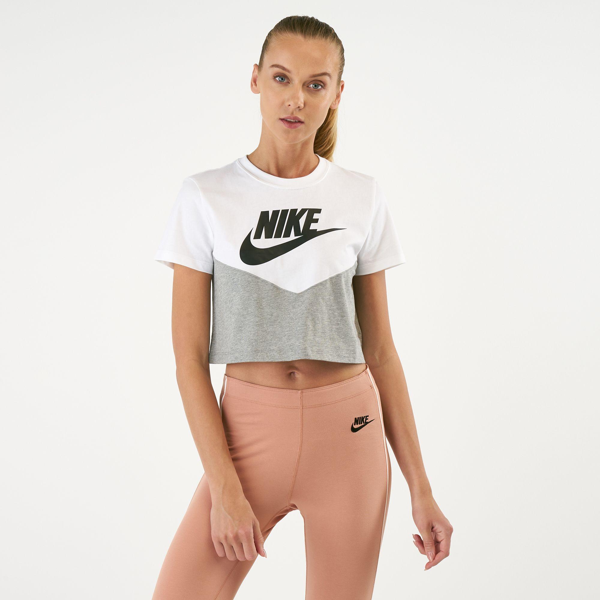 60ad0c8c Nike Women's Sportswear Heritage T-Shirt | T-Shirts | Tops | Clothing |  Womens | SSS