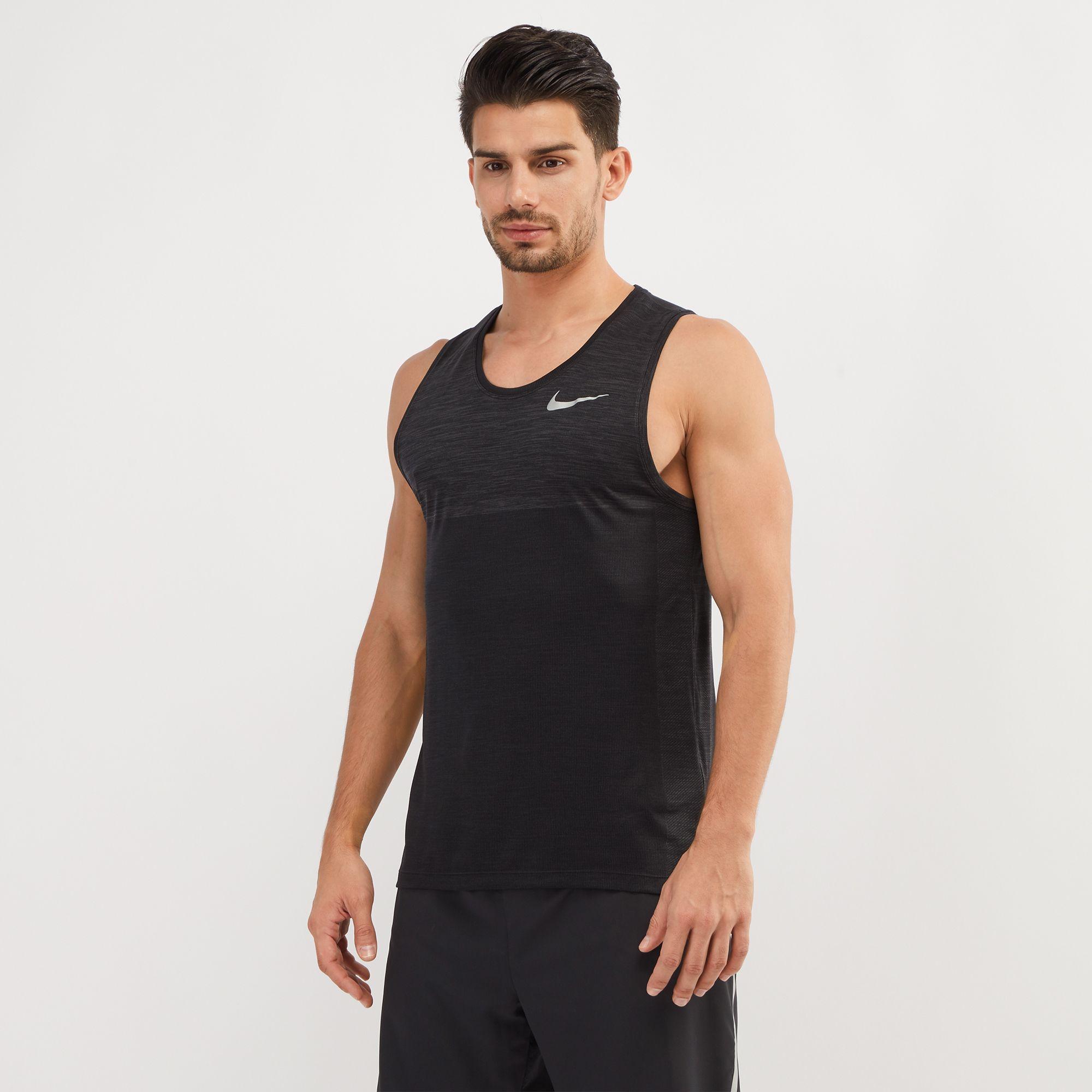 Íntimo Adjunto archivo fusión  Shop Nike Dri Fit Medalist Running Tank Top Nkap924613 060 ...