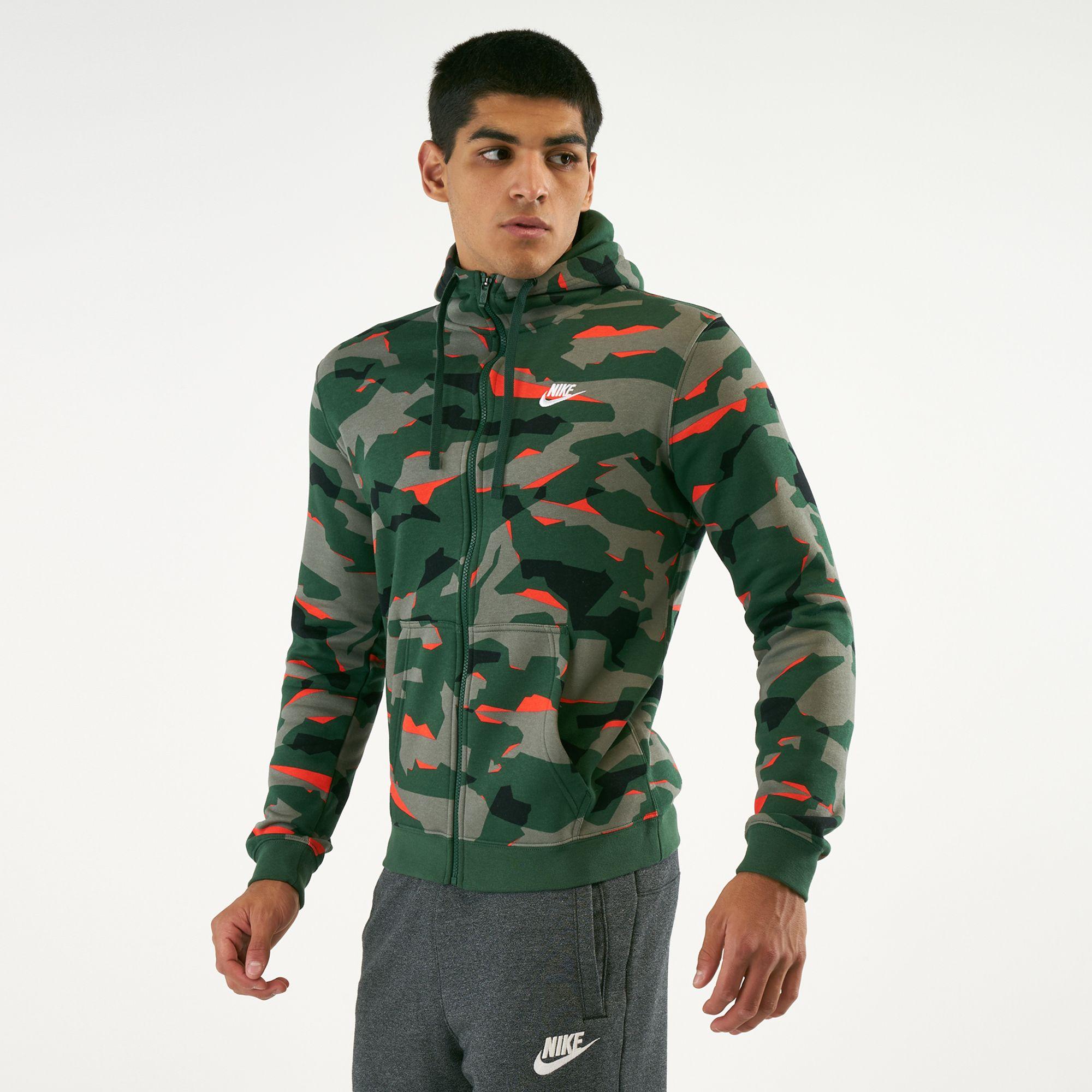 timeless design 1c820 e2d9d Nike Men s Sportswear Club Camo Hoodie   Hoodies   Hoodies and ...