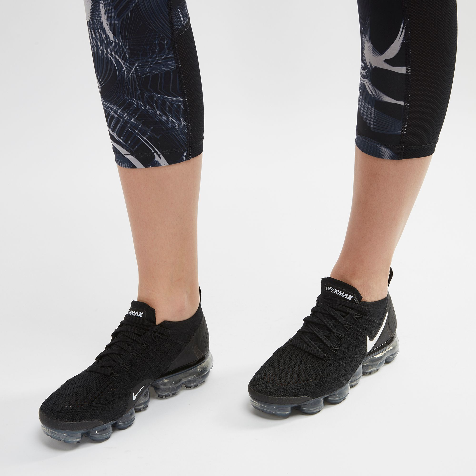 meet 838cb e7928 Shop Black Nike Air VaporMax Flyknit 2 Shoe | SSS