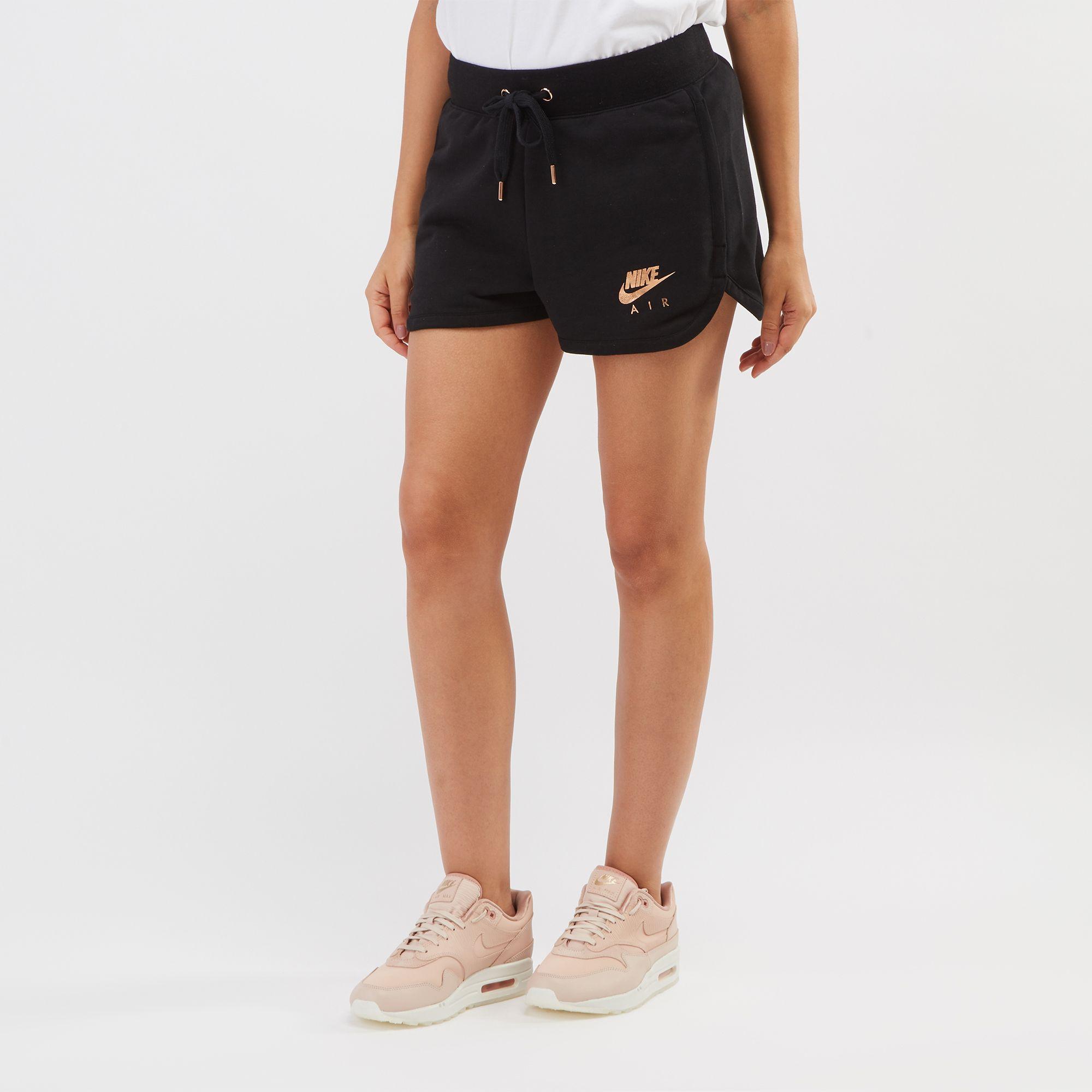 2f634aff24b4 Shop Black Nike Air Fleece Shorts