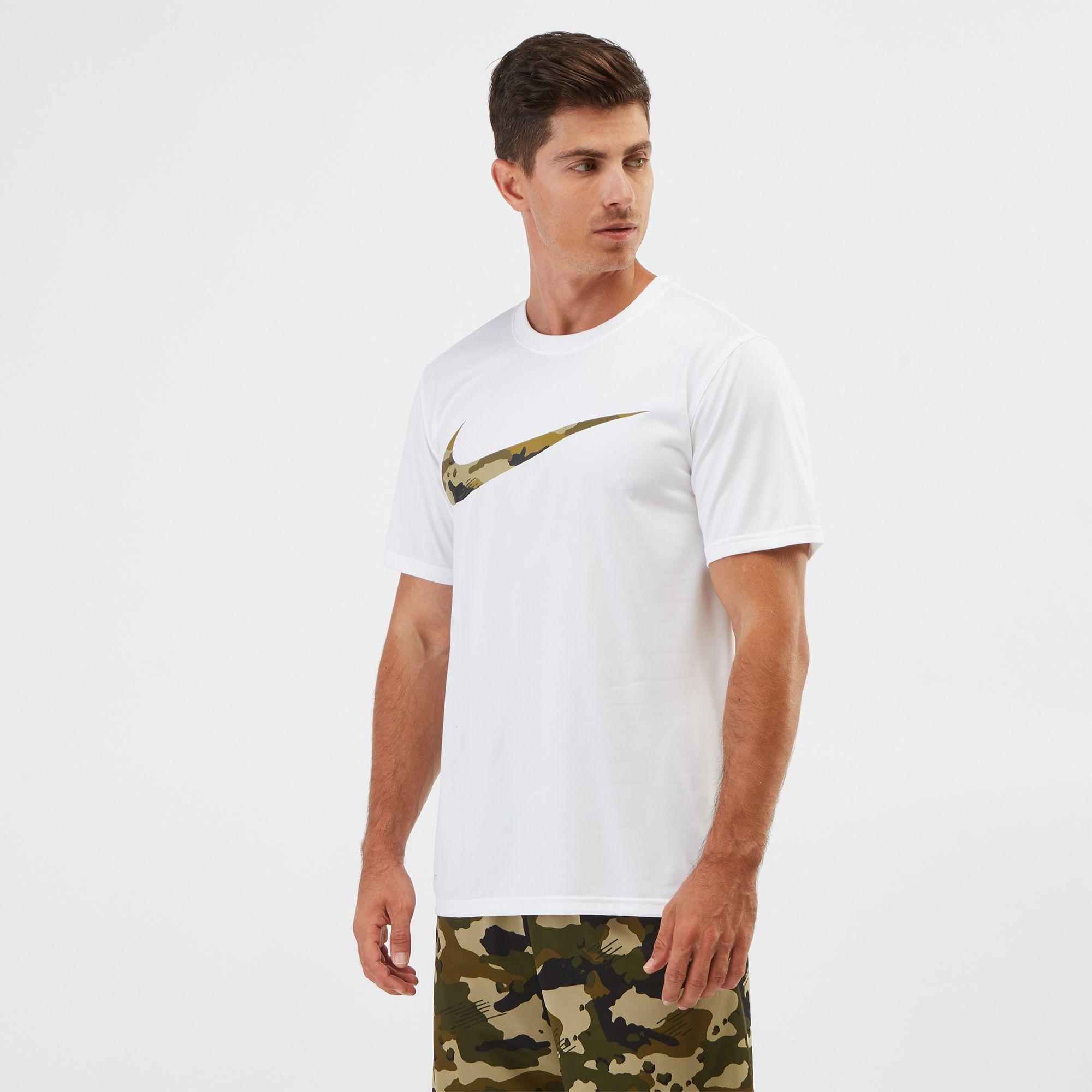 nike camo swoosh t shirt