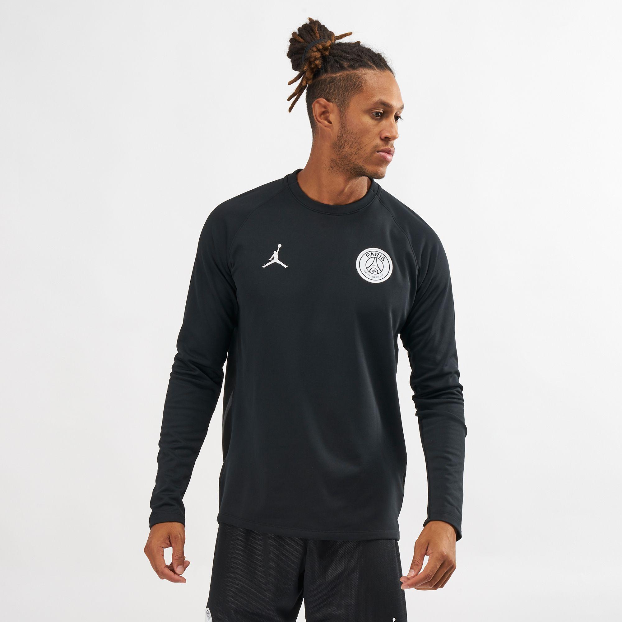 5fb0e495 Nike Dry Squad Paris Saint-Germain Long Sleeve T-Shirt   T-Shirts ...