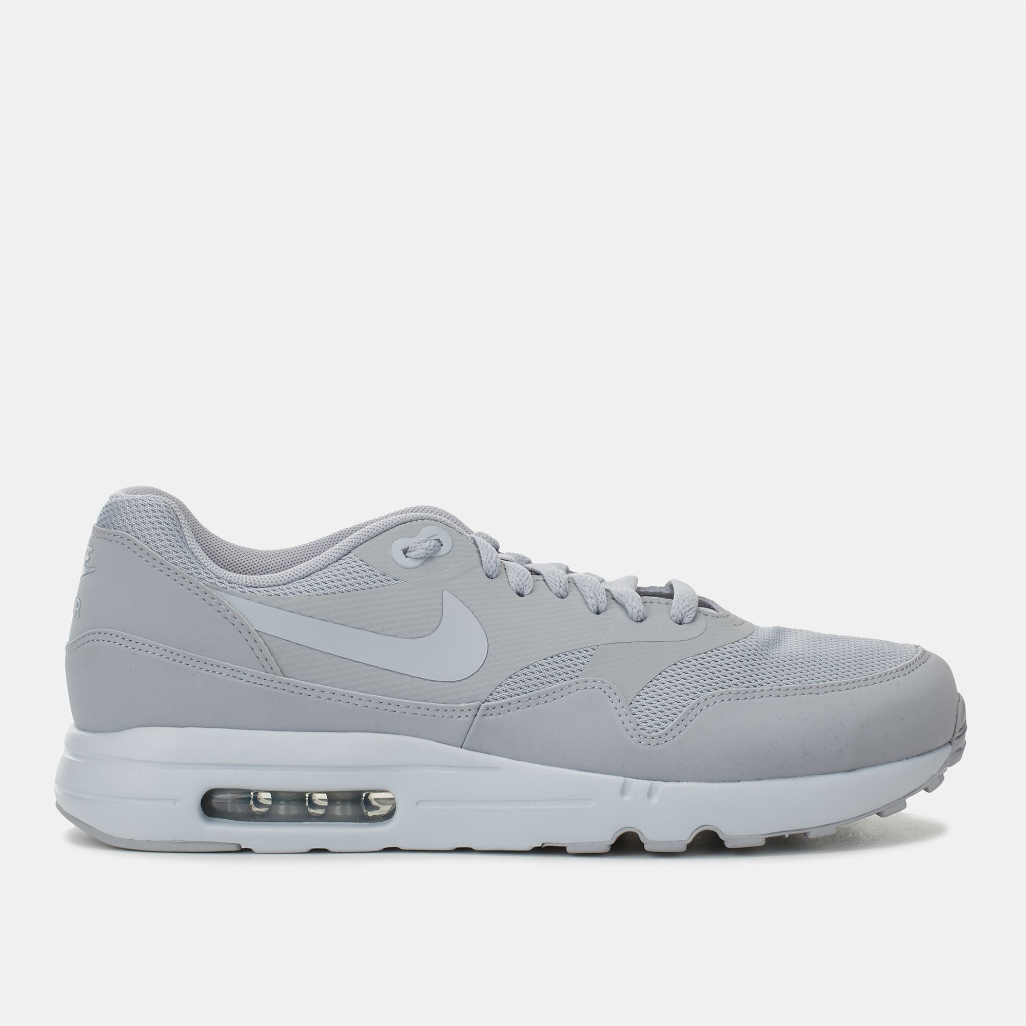 6ab6418894 Shop Grey Nike Air Max 1 Ultra 2.0 Essential Shoe for Mens by Nike | SSS