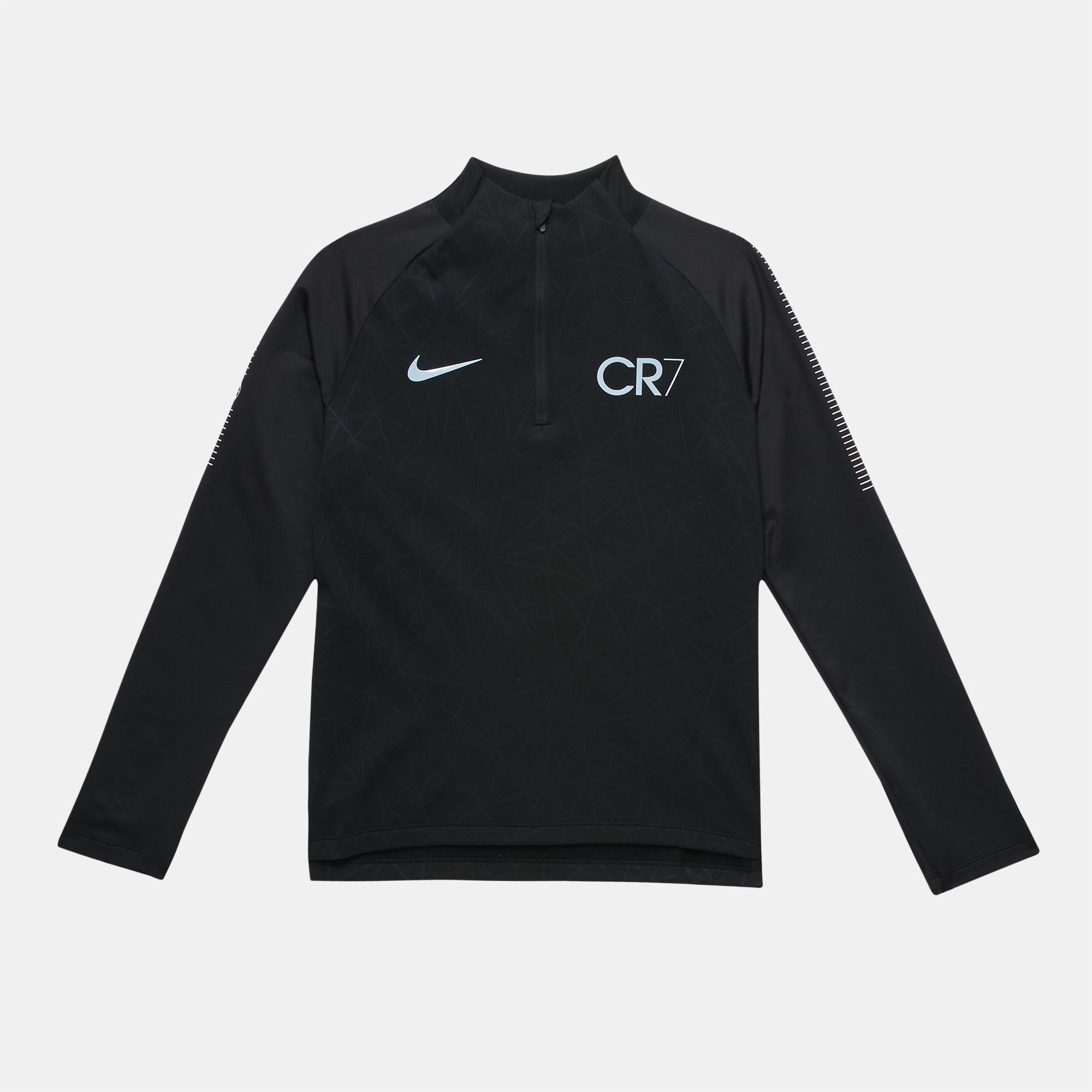 e9249e9381f6 Shop Black Nike Kid's Dry CR7 Squad Drill Long Sleeve Top for Kids ...
