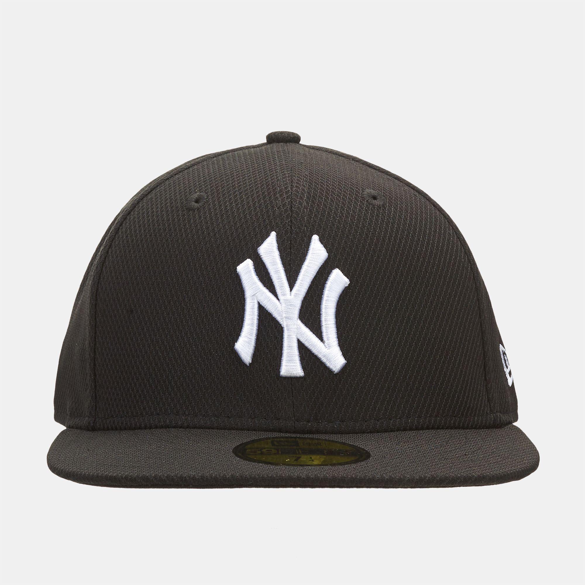 ff8f30dd9eb41 Shop Black New Era MLB Diamond Essential New York Yankees 59FIFTY ...