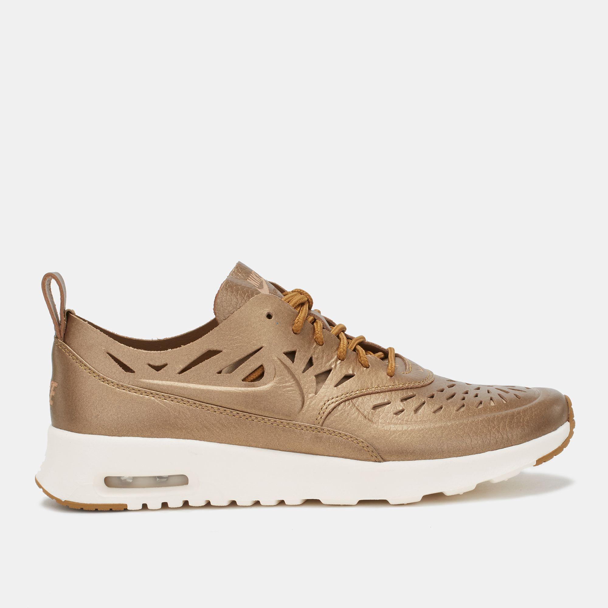 huge discount 2bb09 c6aa1 Shop Gold Nike Air Max Thea Joli Shoe for Womens by Nike   SSS