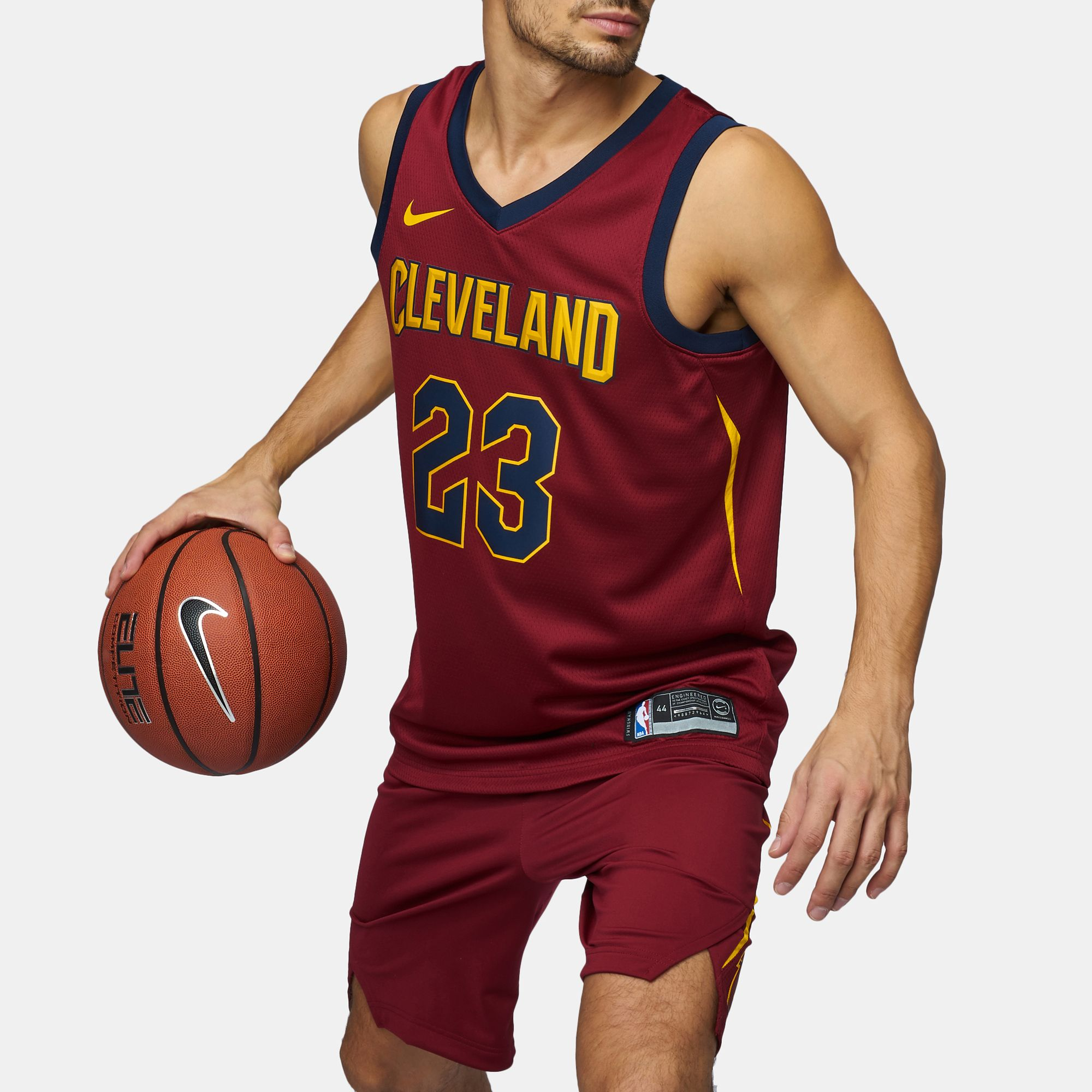 Shop Red Nike NBA Cleveland Cavaliers LeBron James ...