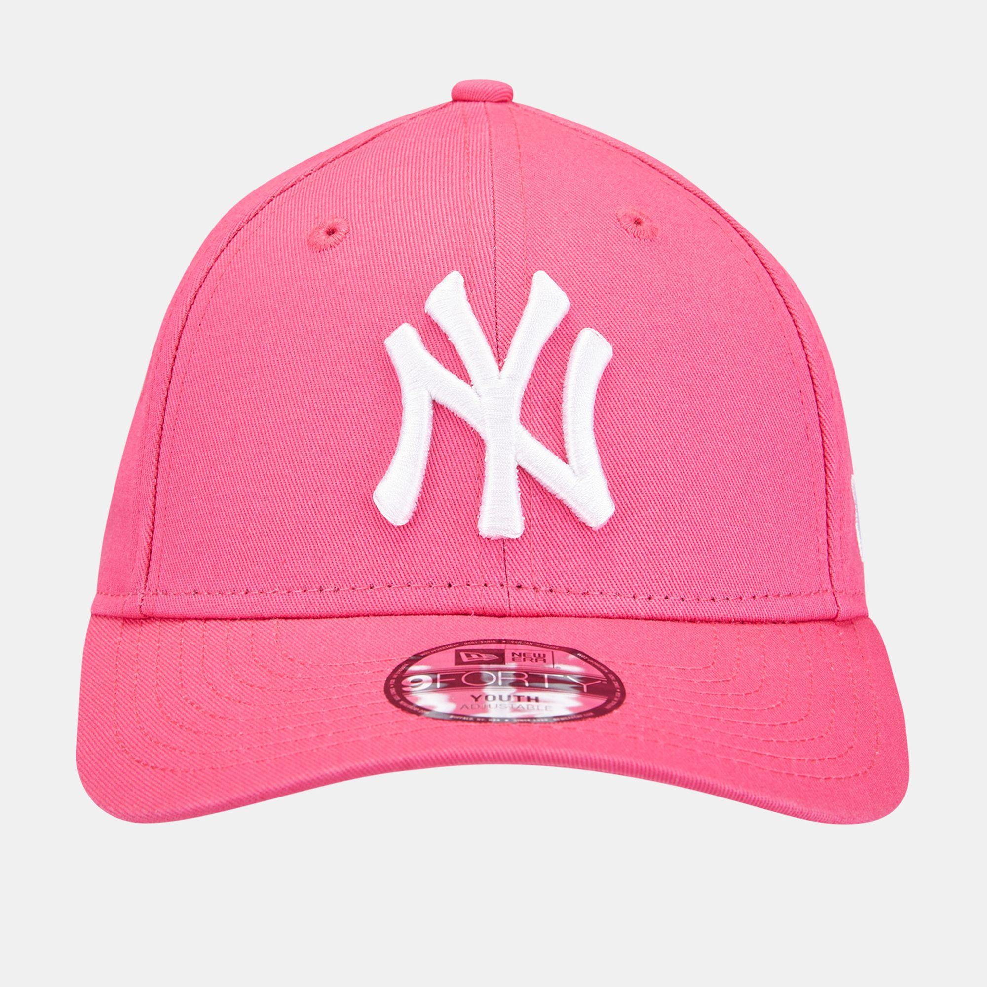New Era Kids' MLB League Basic New York Yankees 9FORTY Cap  c7f35300eba