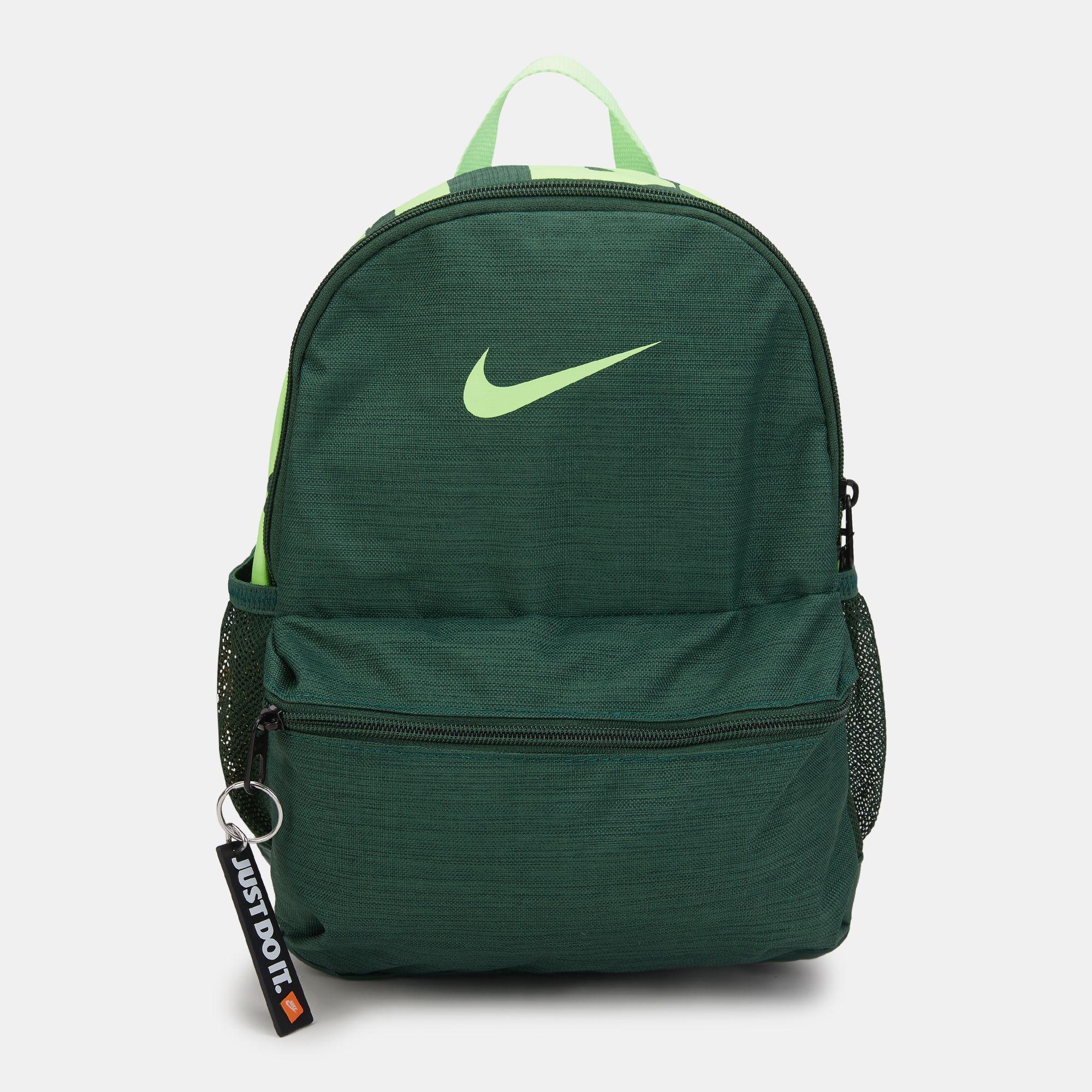 844e09b73c Nike Kids  Brasilia Just Do It Mini Backpack (Older Kids) - Green
