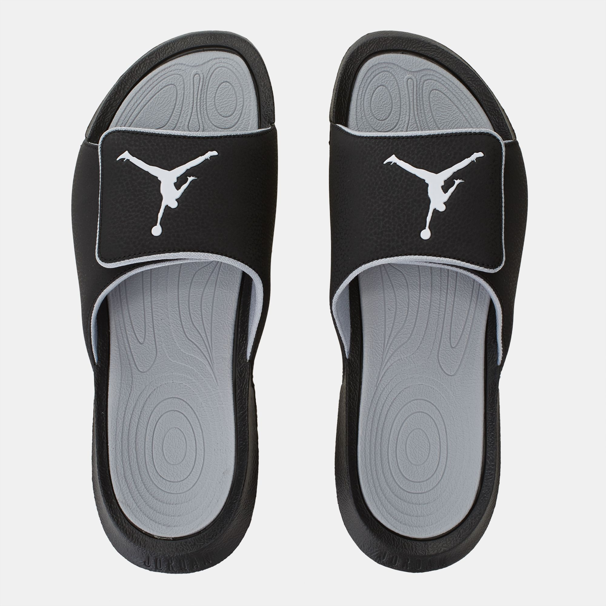 2201c1755 Shop Black Jordan Hydro 6 Slides for Mens by Jordan