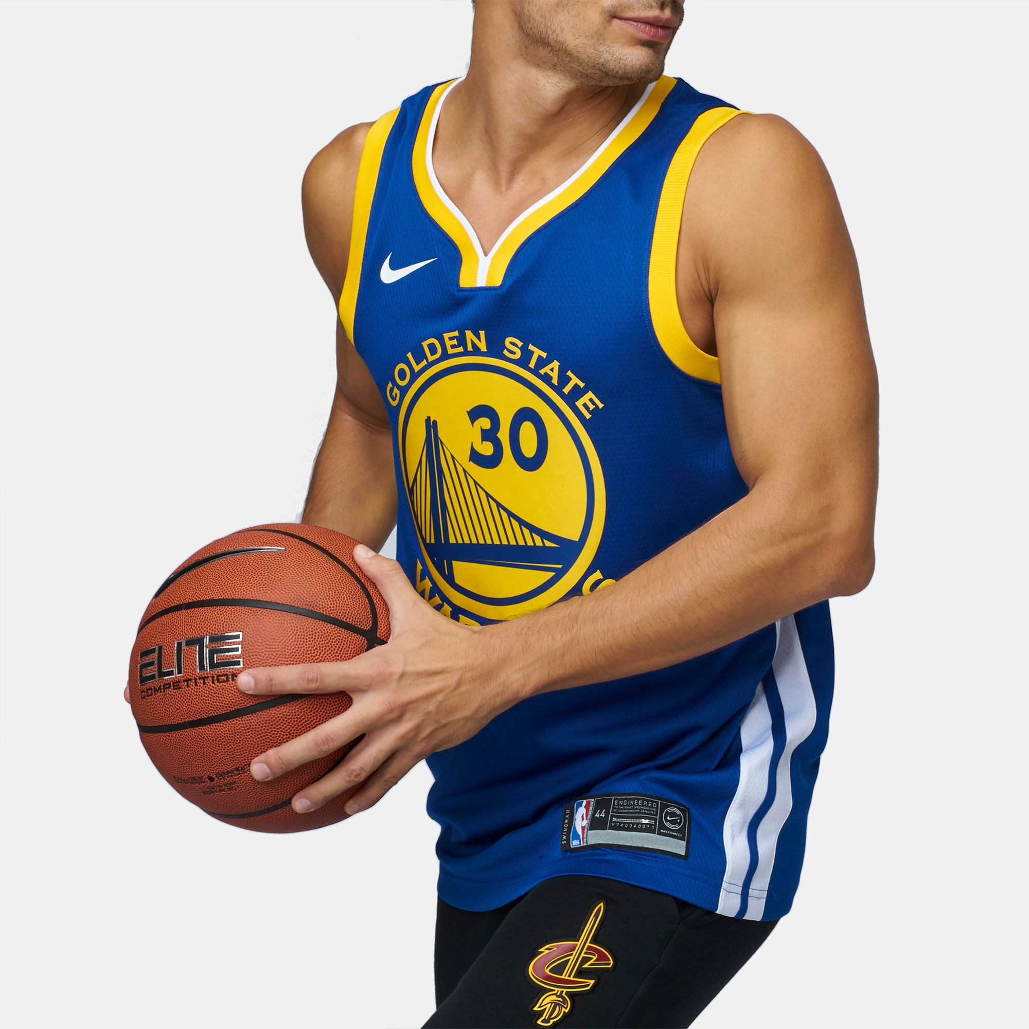 Shop Blue Nike NBA Golden State Warriors Stephen Curry Swingman ... 636f975d5