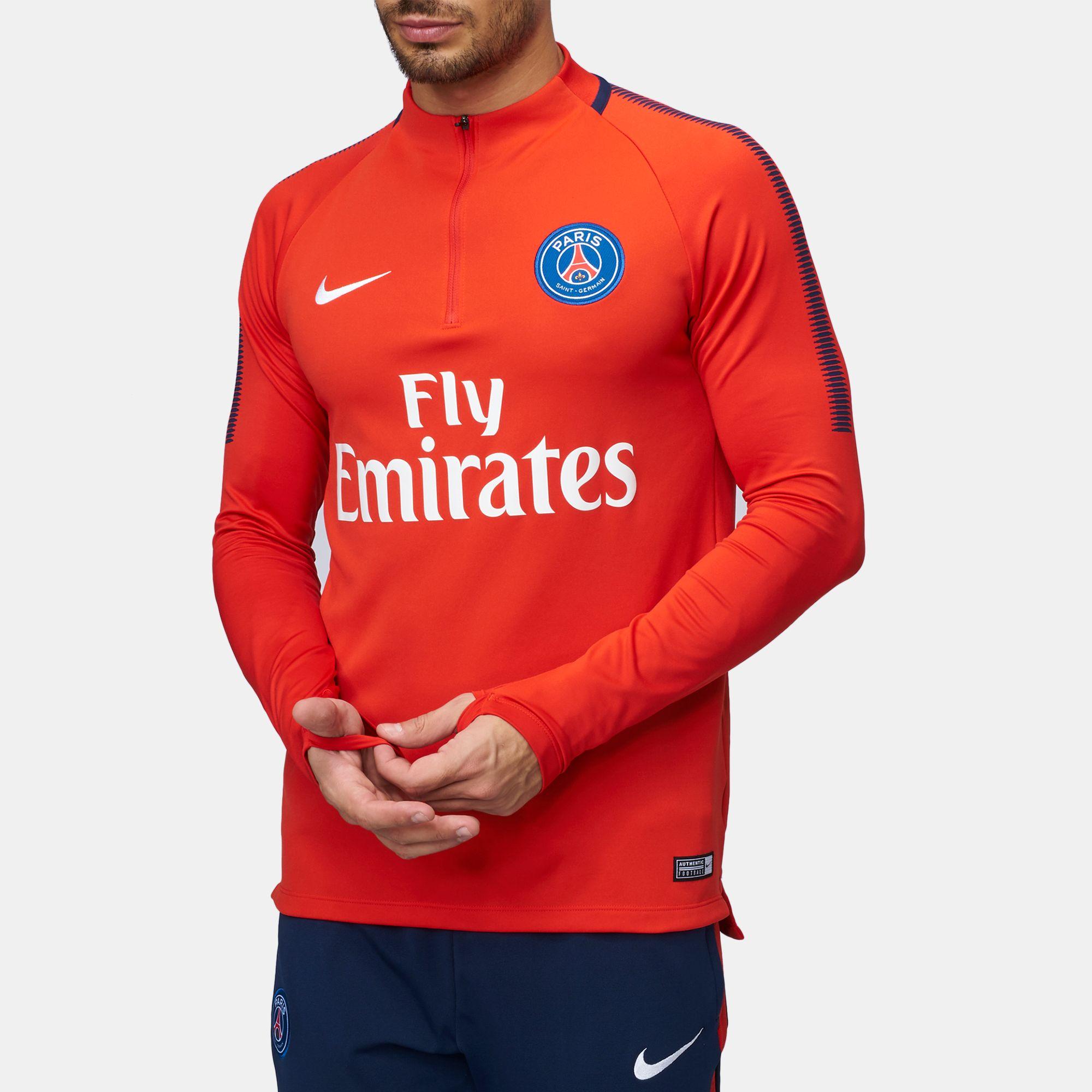 644b52b94 Shop Red Nike Paris Saint-Germain Dry Squad Drill Football ...