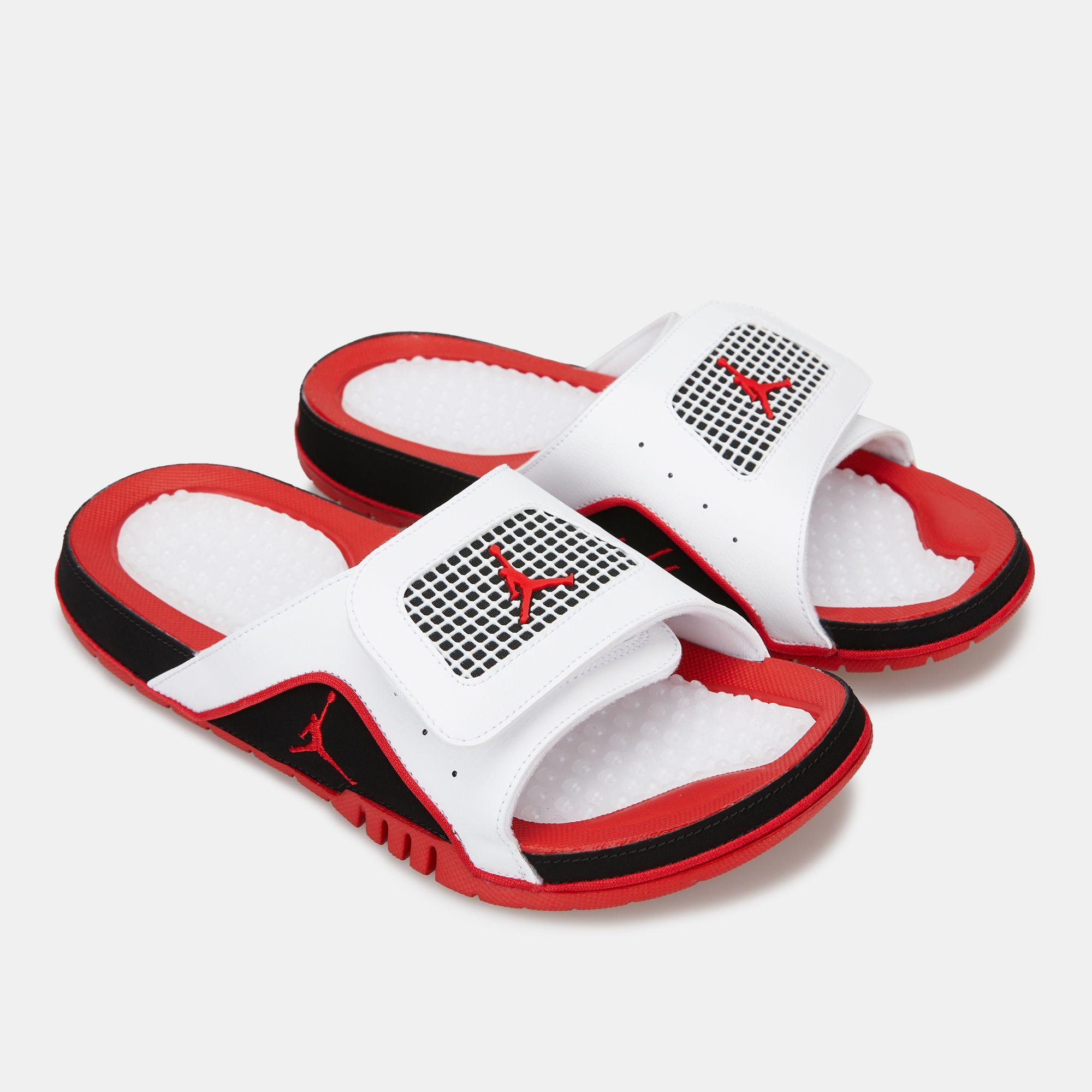 d6a4369a3 Jordan Men s Air Jordan Hydro 4 Retro Slides