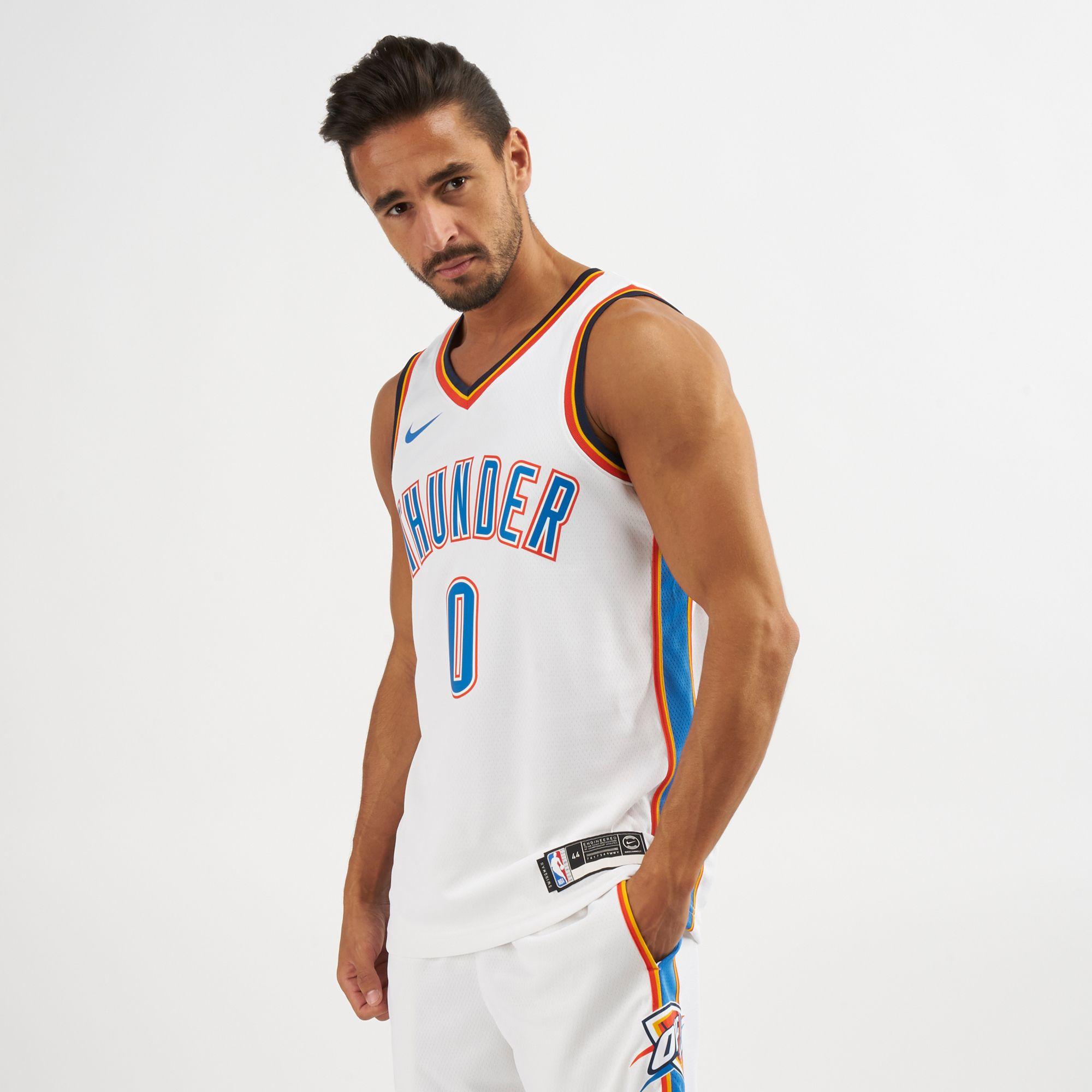 fcc8711c6 Nike NBA Oklahoma City Thunder Russell Westbrook Swingman Home Jersey