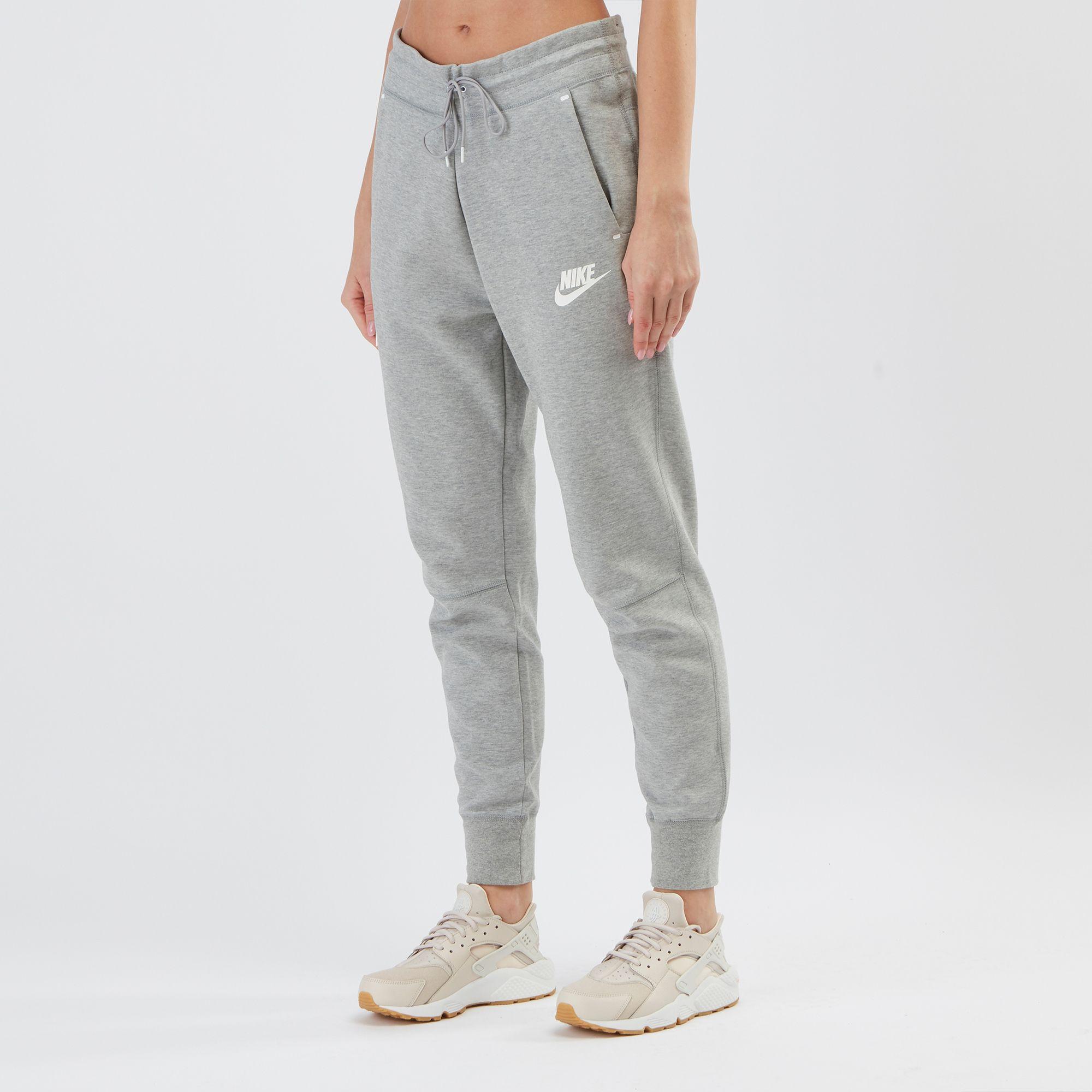 nike sweats grey womens