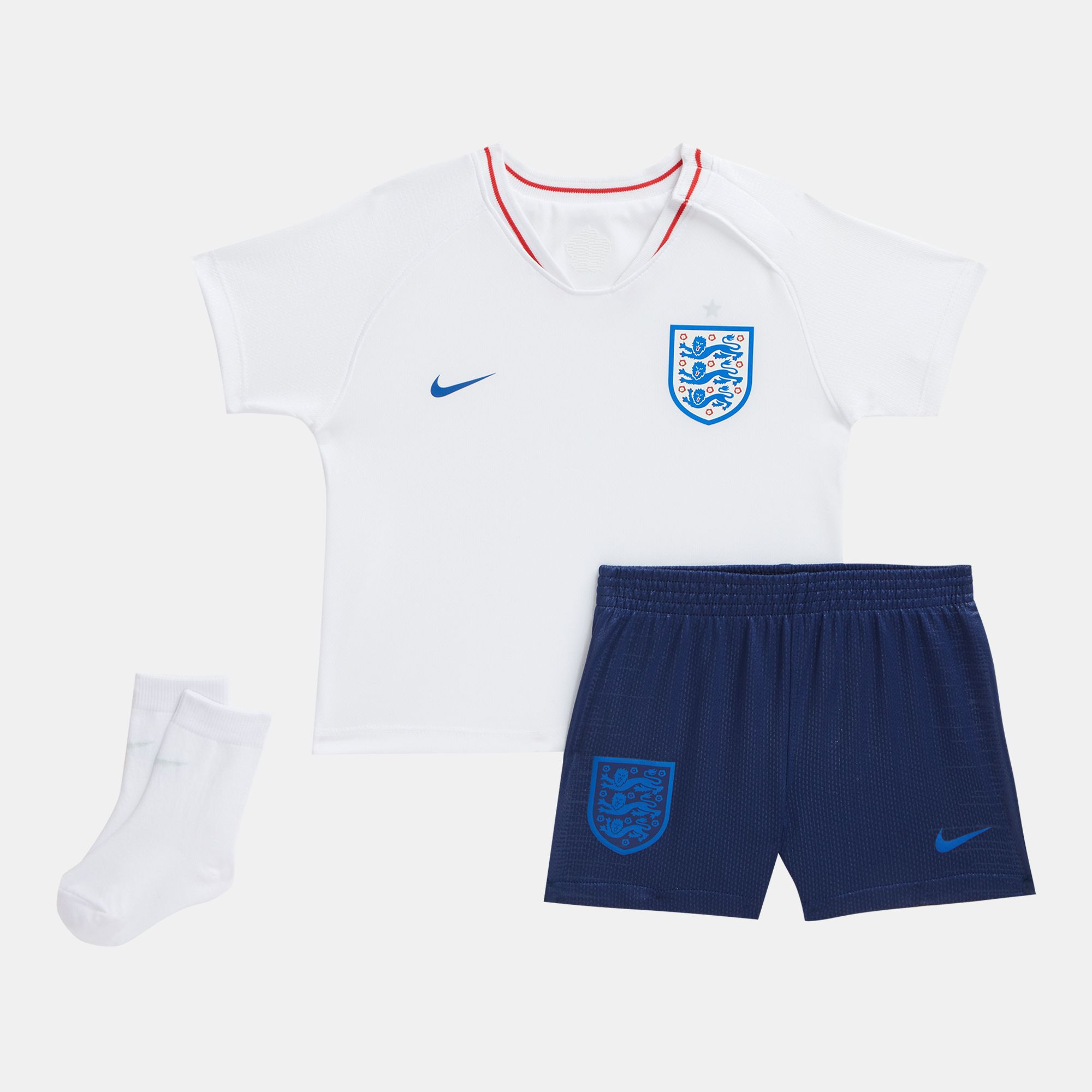 f0d0c19d4f65 Shop White Nike Kids  England Stadium Home Football Kit (Infant ...