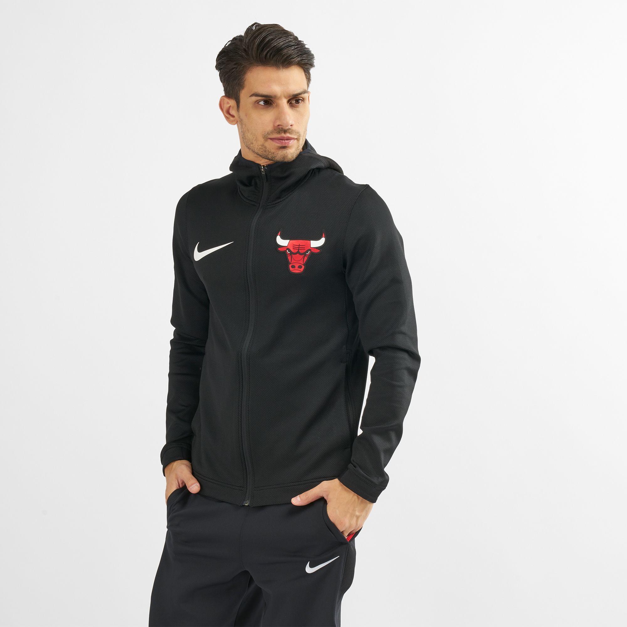 3cfa648c87d Nike Nba Chicago Bulls Therma Flex Showtime Hoodie
