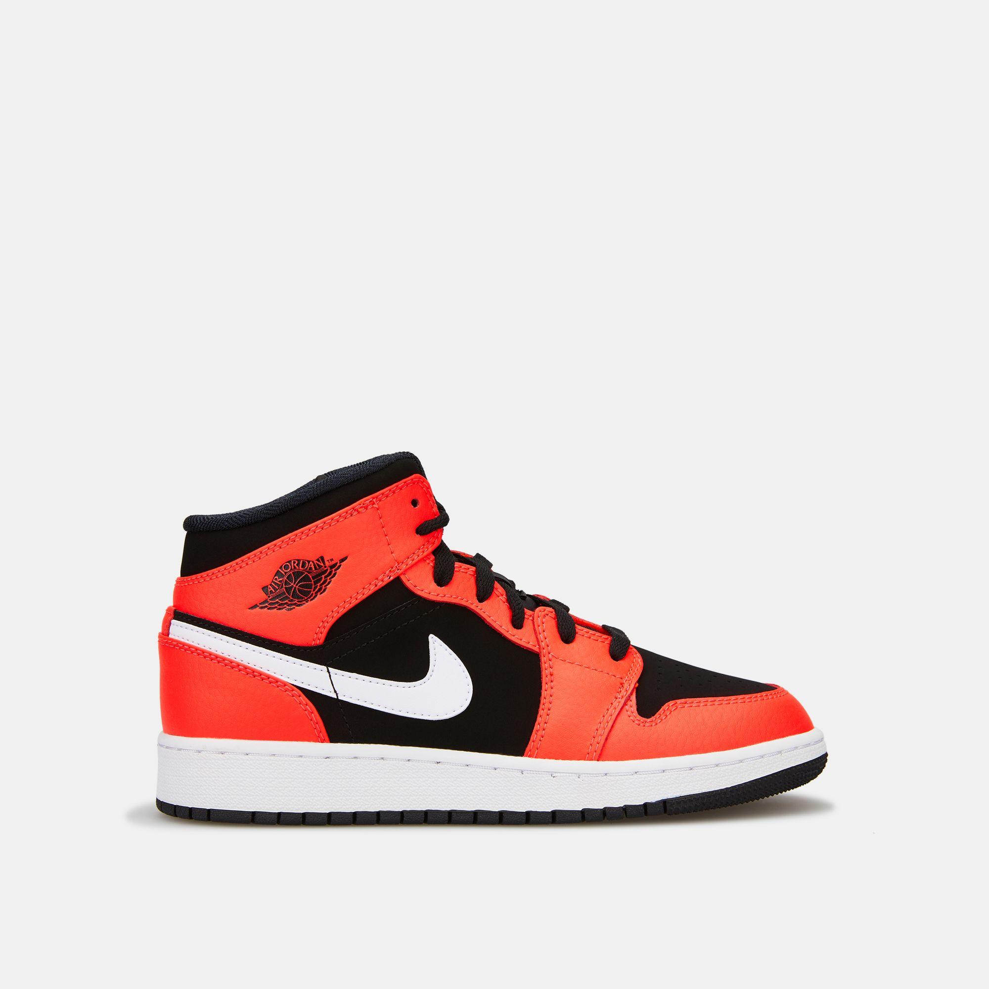 buy popular 7ee31 3e08c Jordan Kids  Air Jordan 1 Mid Shoe (Younger Kids)   Sneakers   Shoes ...