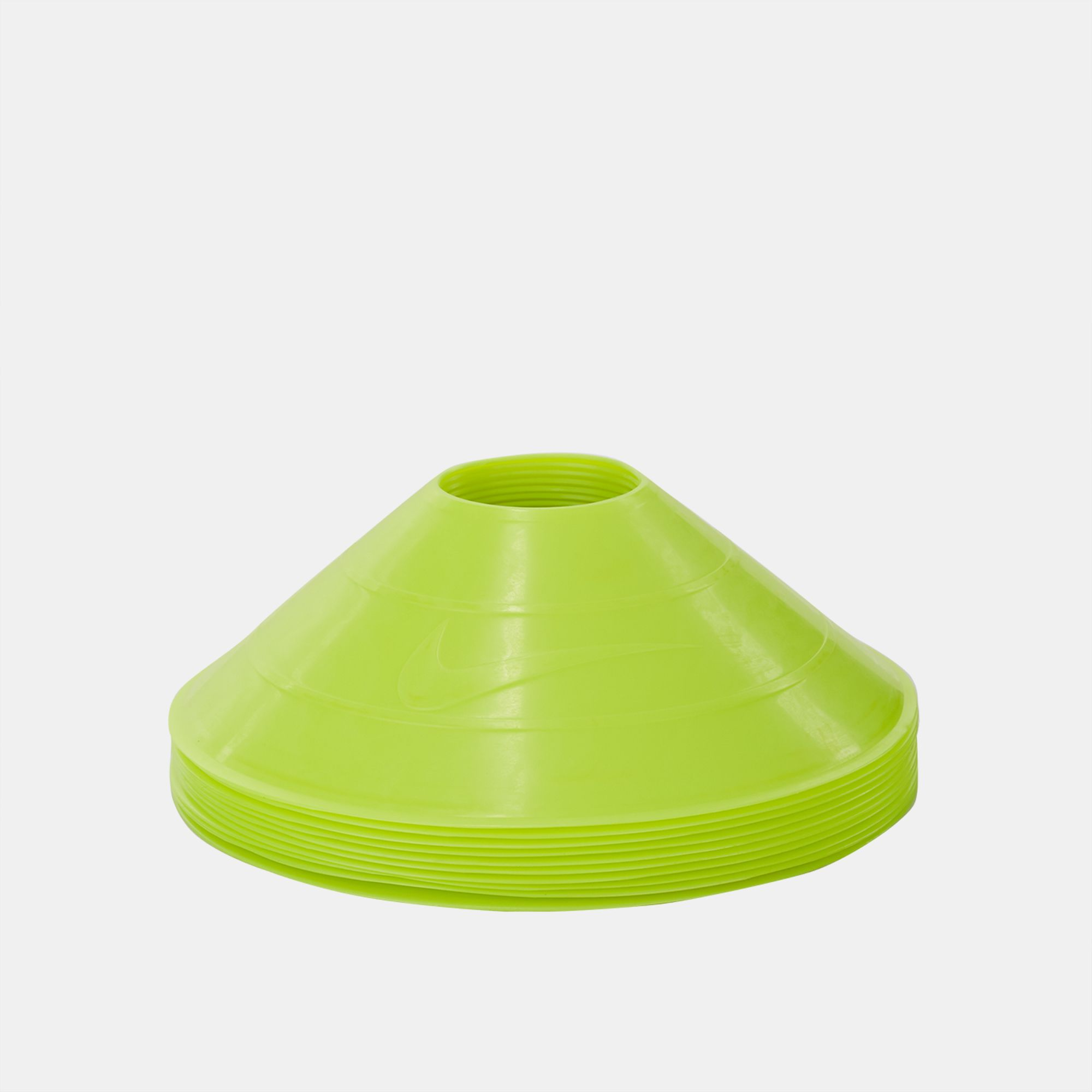 Shop Yellow Nike 10 Pack Training Cones For Unisex By Sss Cone