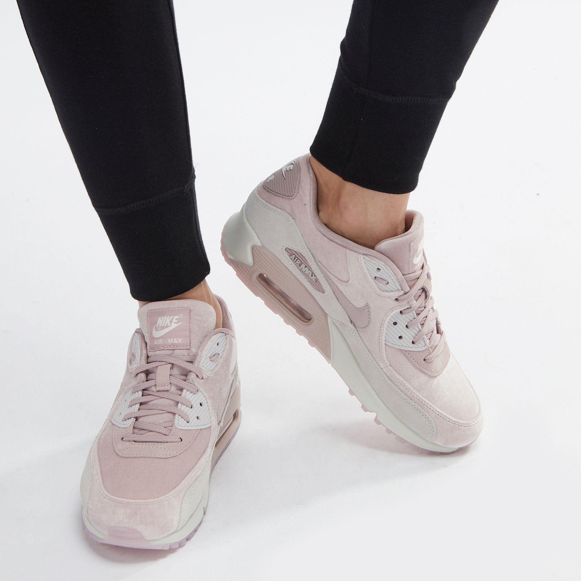outlet store 37ea0 7c0eb Nike Air Max 90 LX Velvet Shoe | Sneakers | Shoes | Women's ...