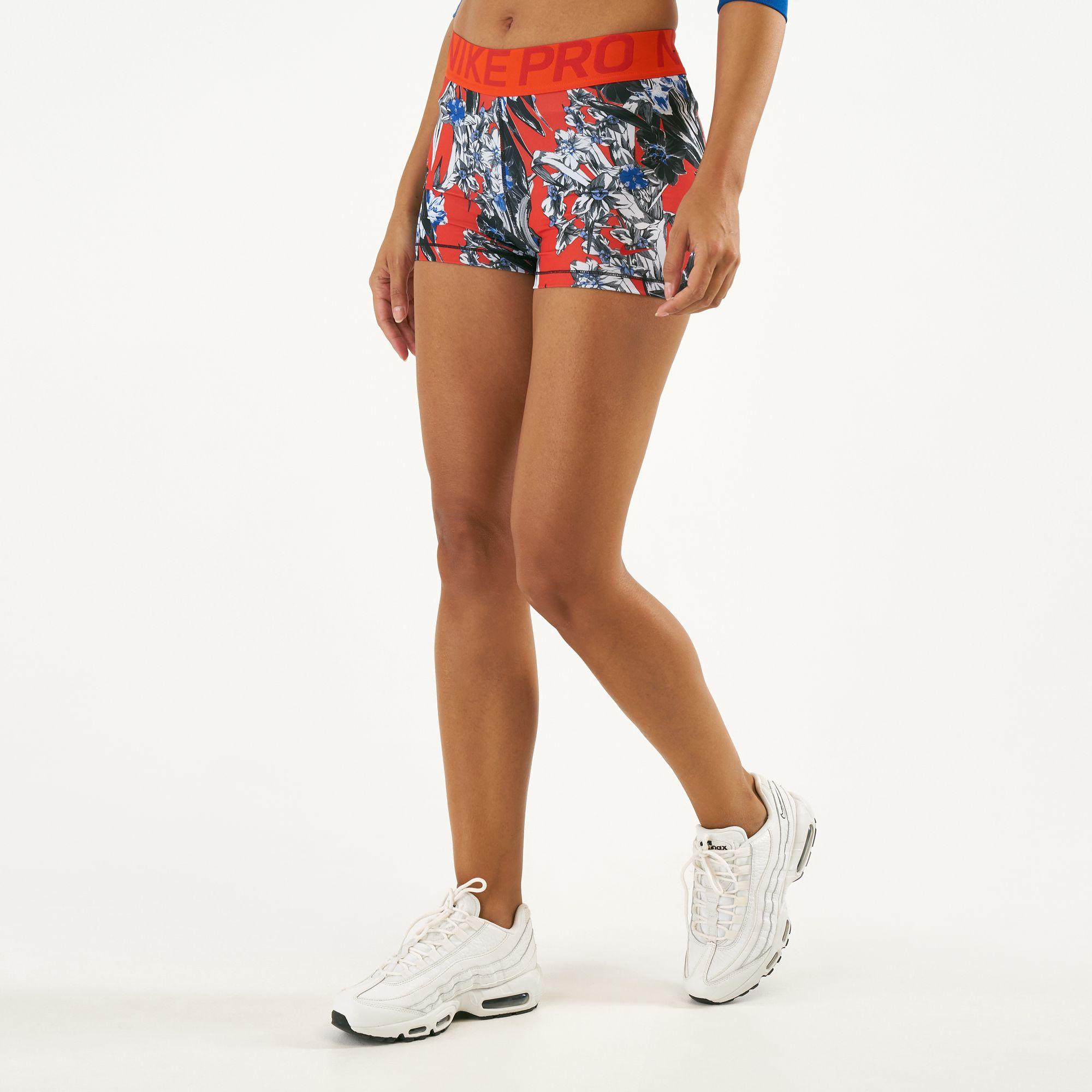 nike pro 8 inch shorts womens