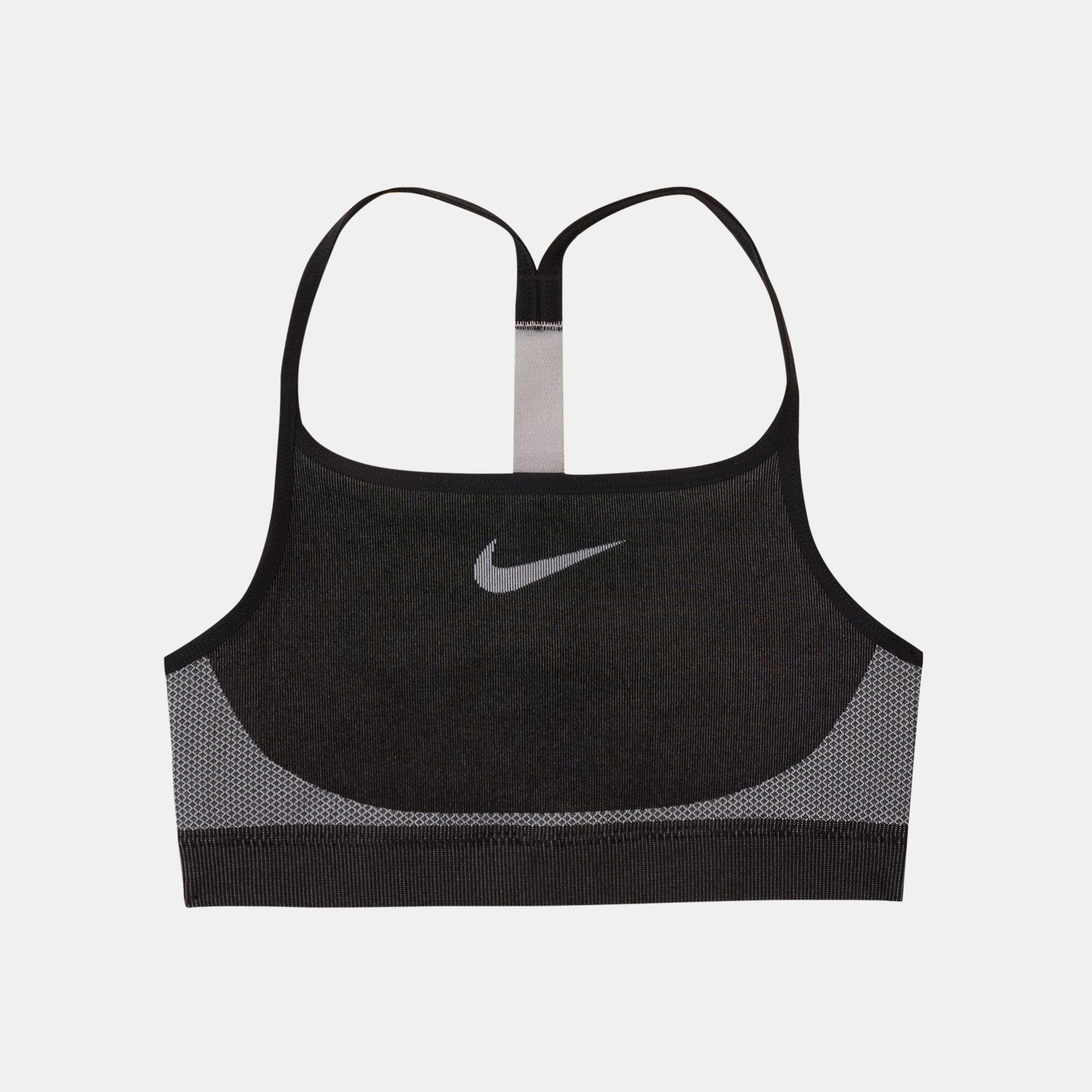 outlet store 1585b 59bda Nike Kids  Seamless Sports Bra (Older Kids)   Sports Bra   Clothing ...