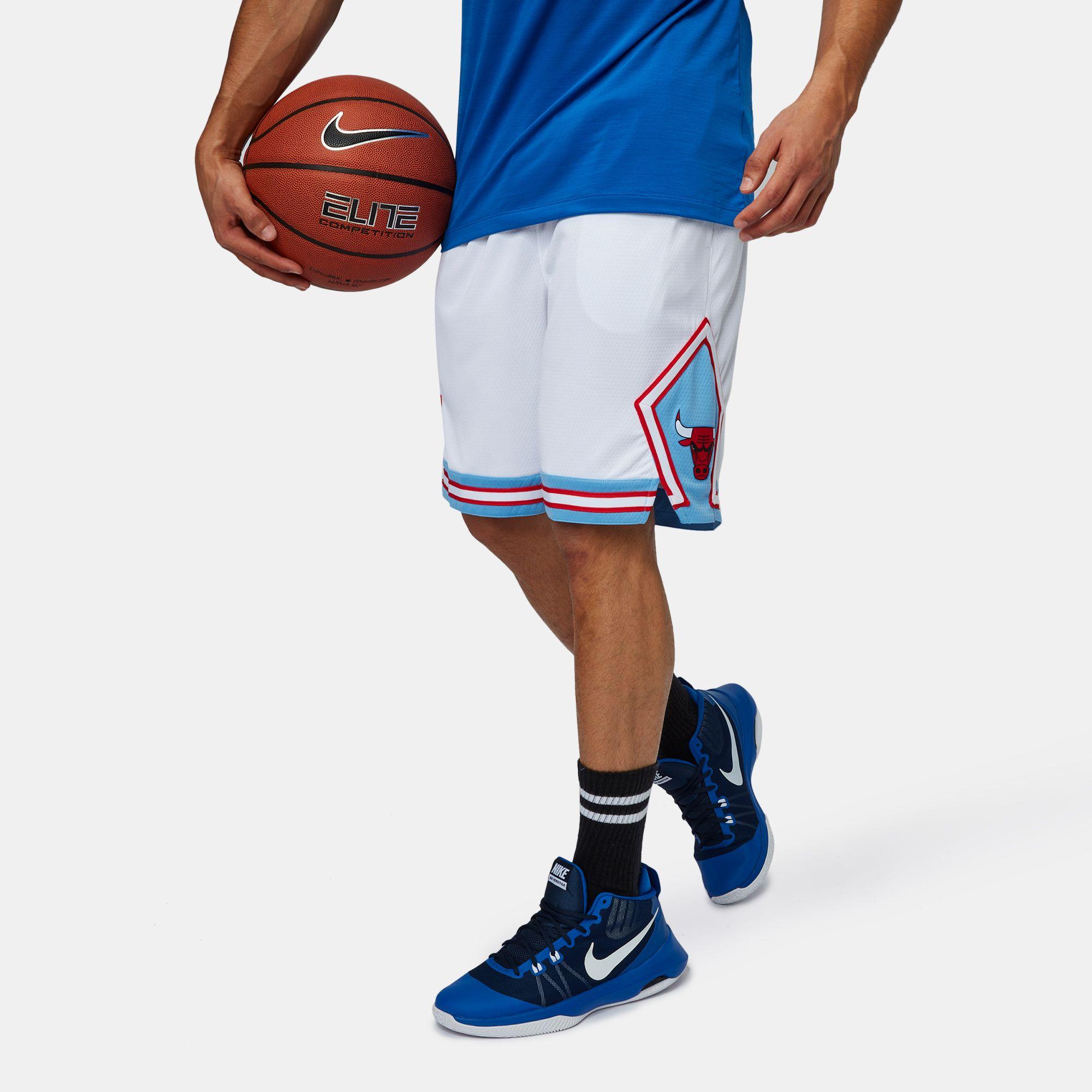 huge selection of 74618 a1109 Nike NBA Chicago Bulls Swingman City Edition Basketball Shorts ...