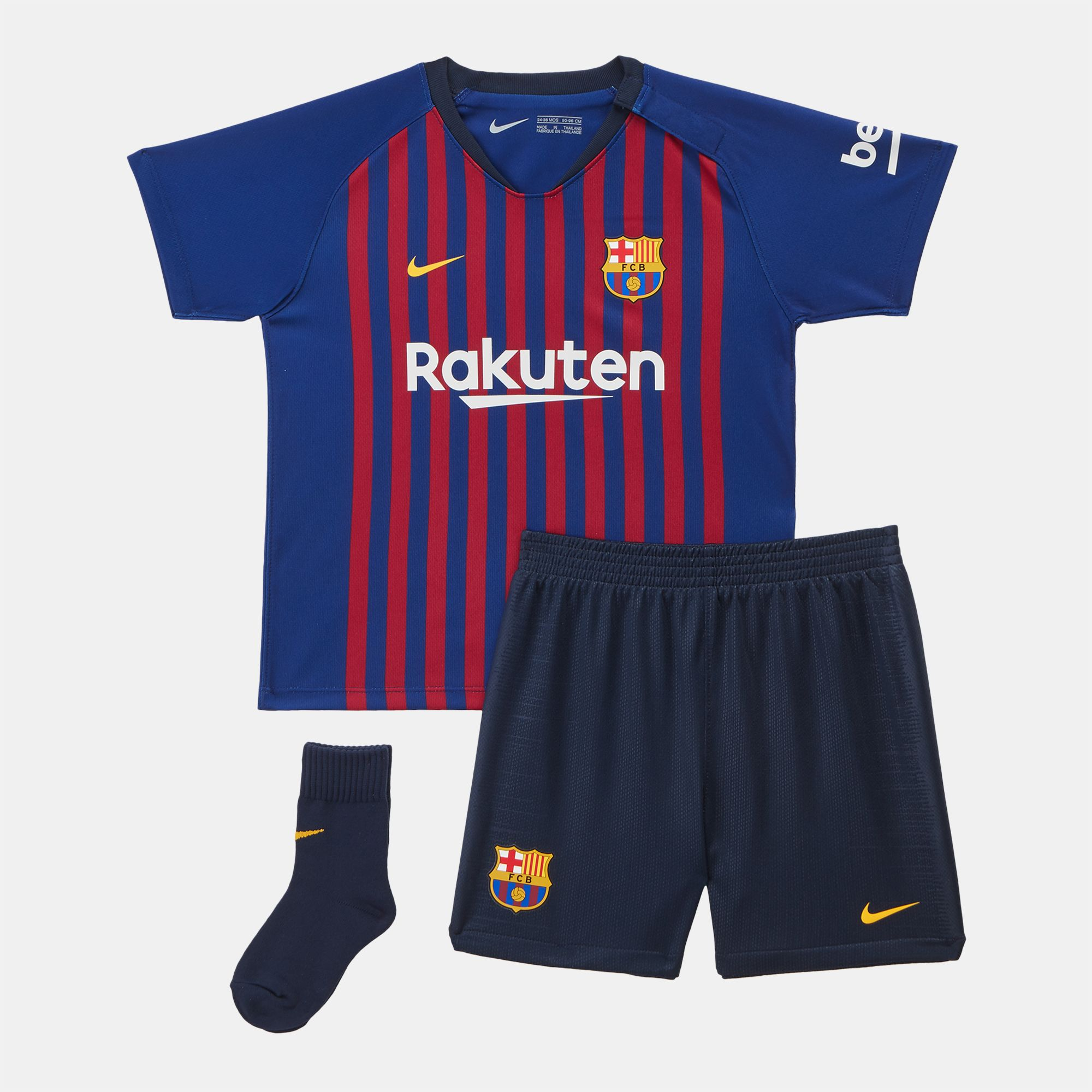 10179fb11cd Nike Kids' Breathe FC Barcelona Home Football Kit (Baby and Toddler ...