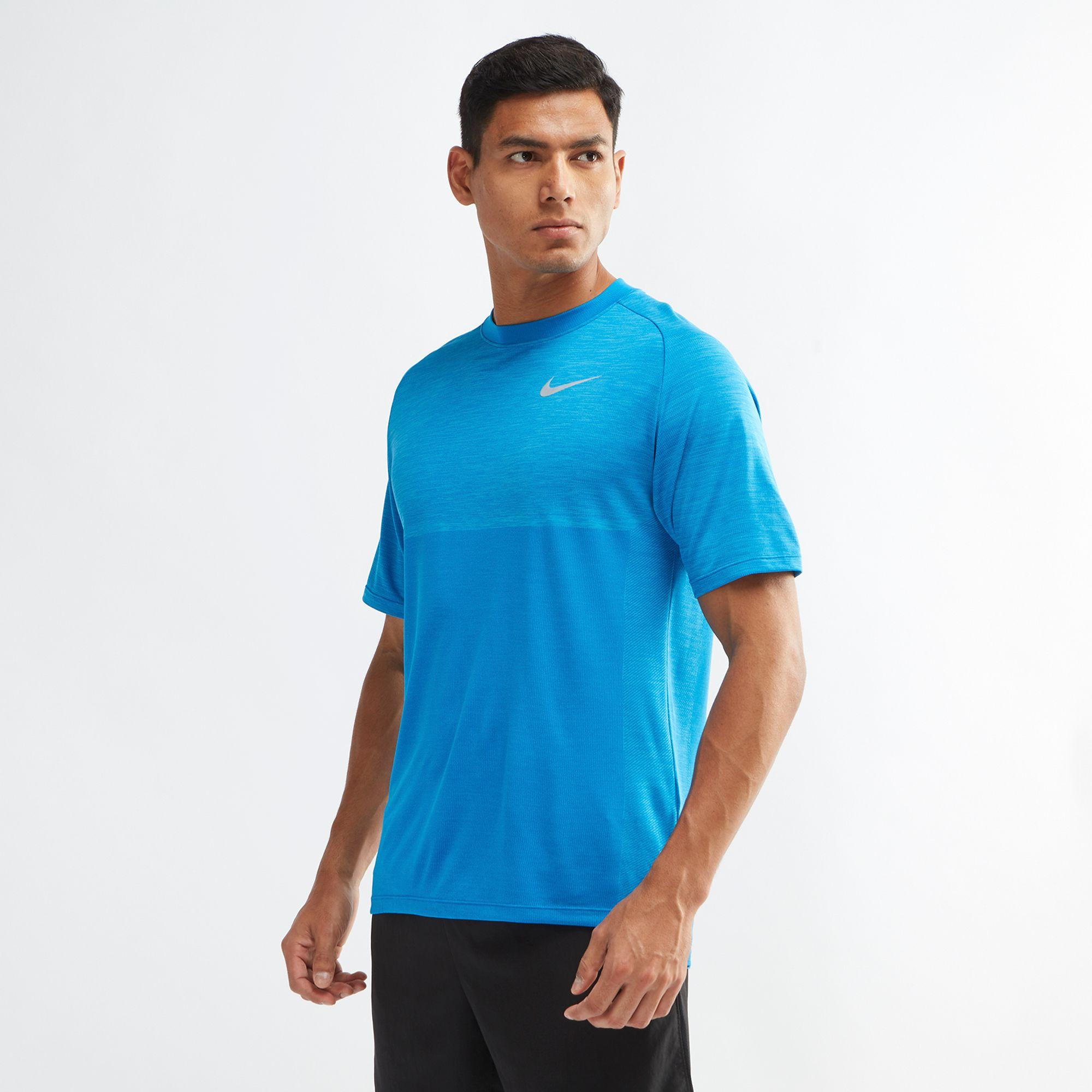 e2de0a21 Nike Dri Fit Medalist Running T Shirt Nkap891426 465 in Dubai, UAE   SSS