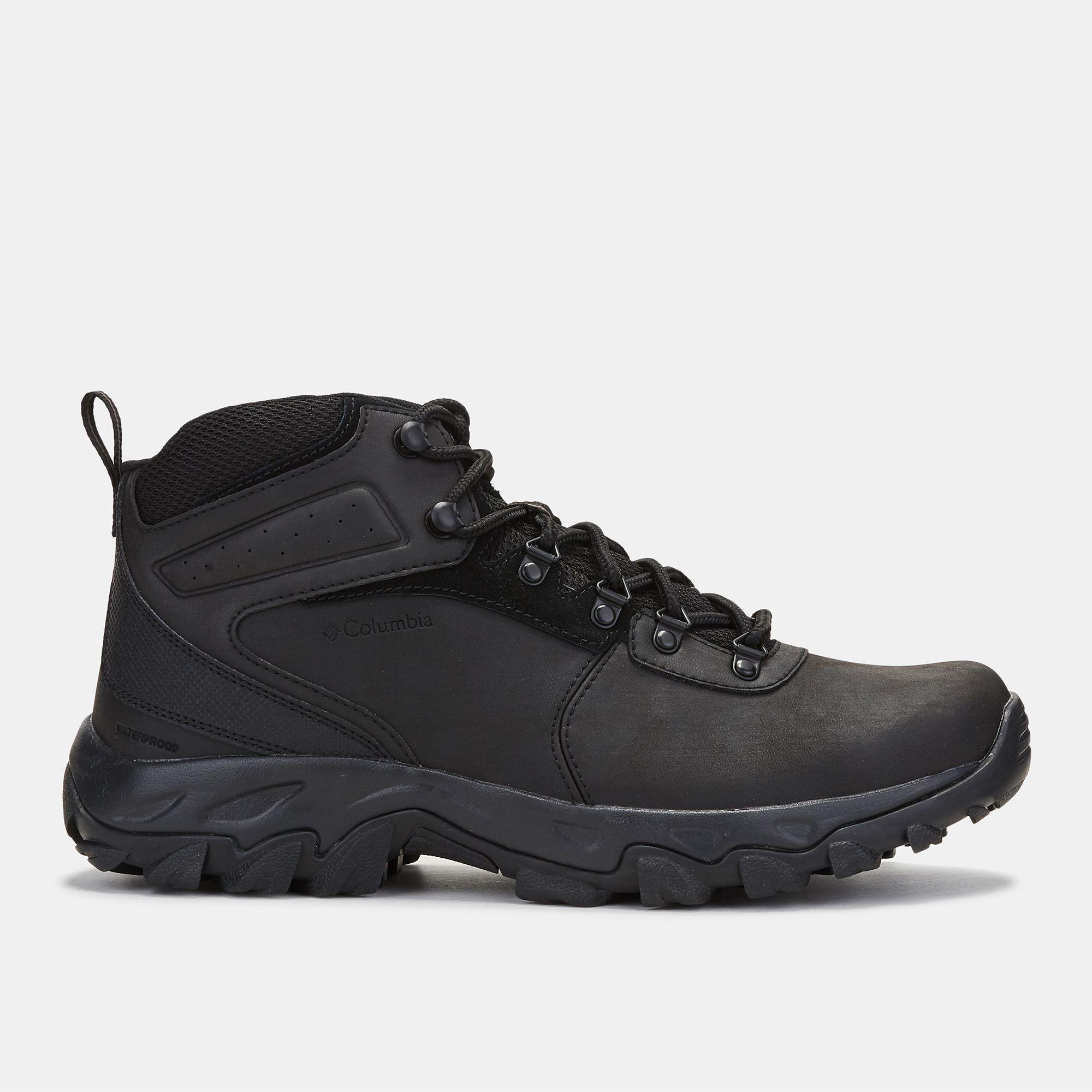 Shop Black Columbia Newton Ridge™ Plus II Waterproof Hiking Shoe for Mens  by Columbia  80e8189a3e