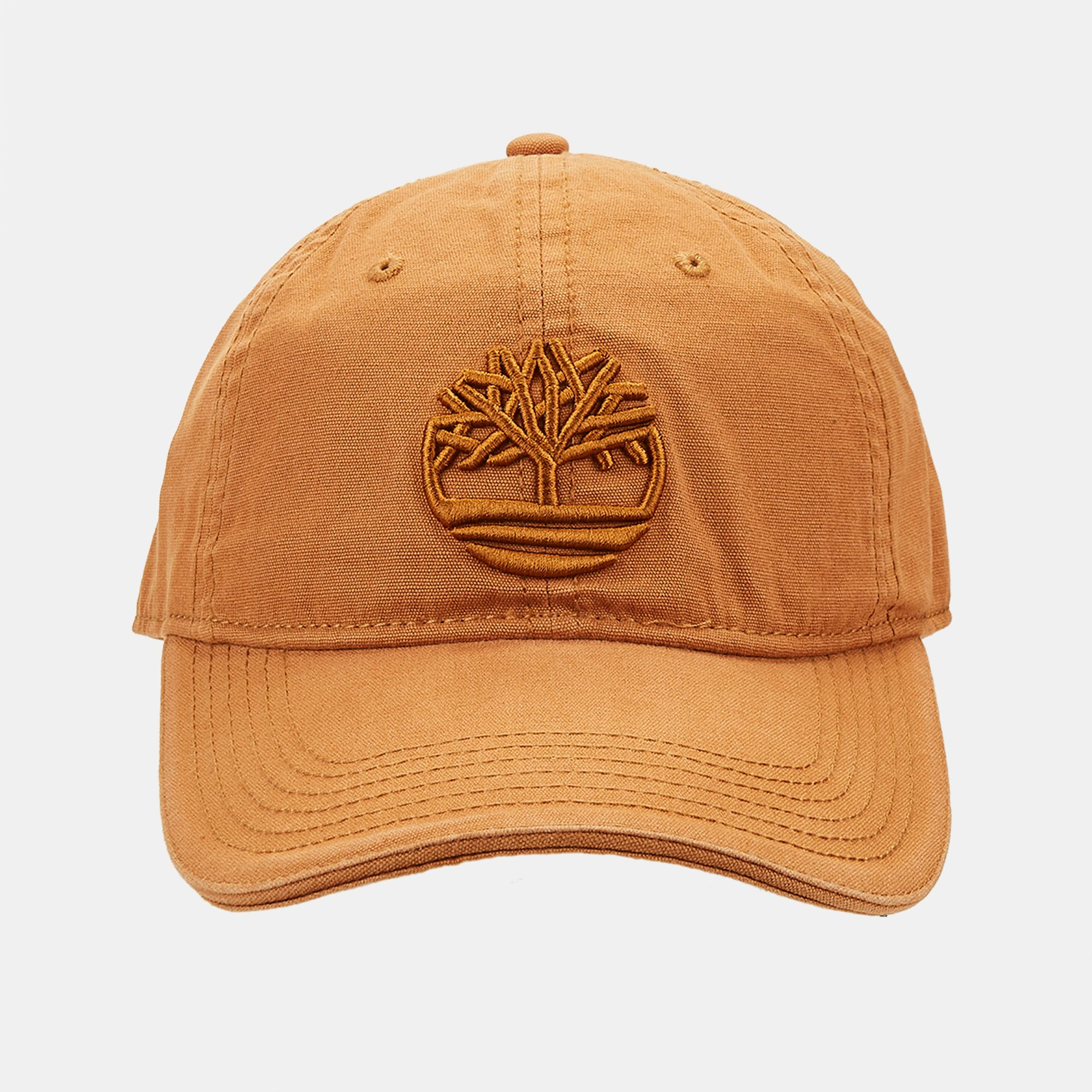 36b3ffdee70 Shop Yellow Timberland® Cotton Canvas Embroidered Baseball Cap for ...