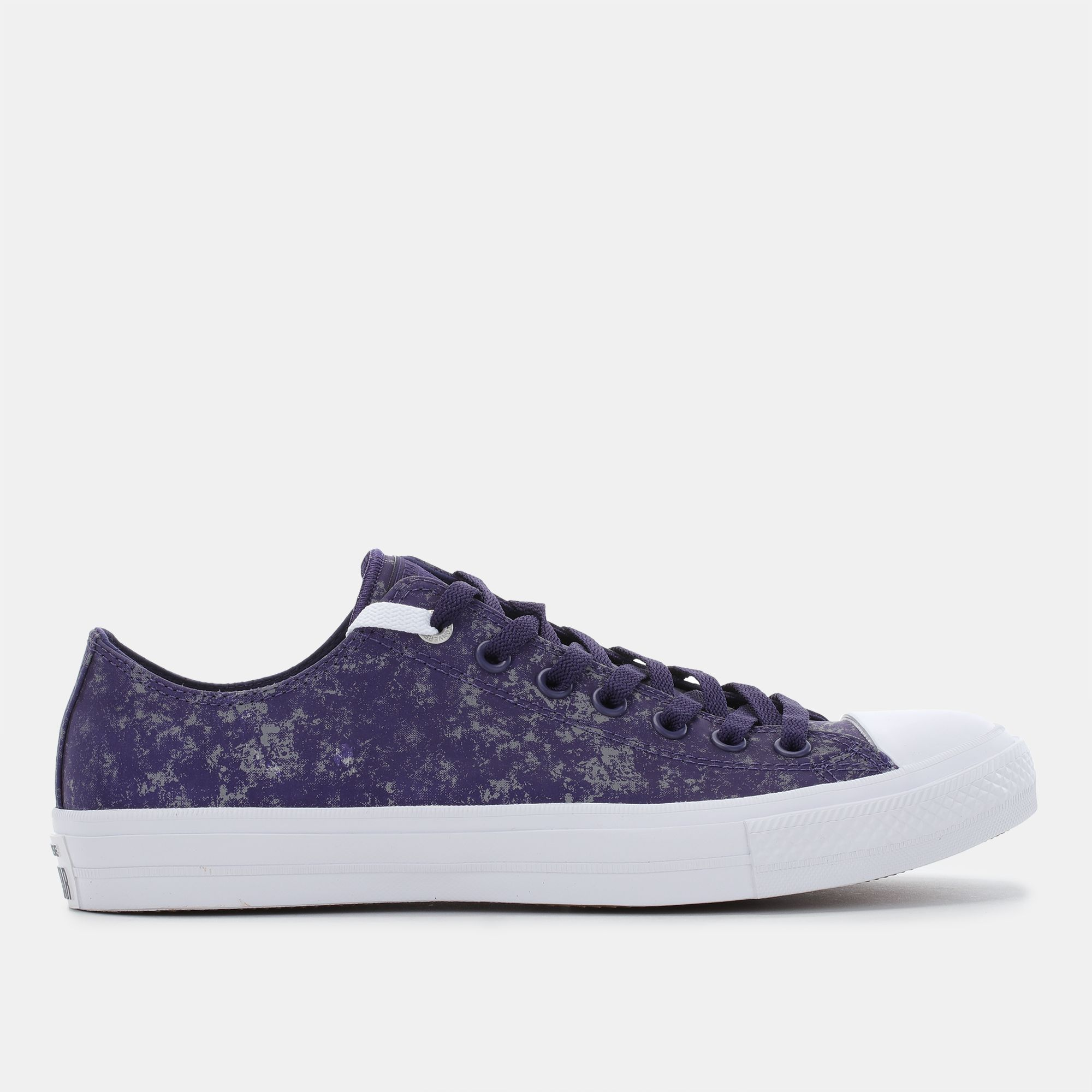 57615f007c9 Shop Purple Converse Chuck Taylor All Star II Reflective Wash Shoe for  Unisex by Converse