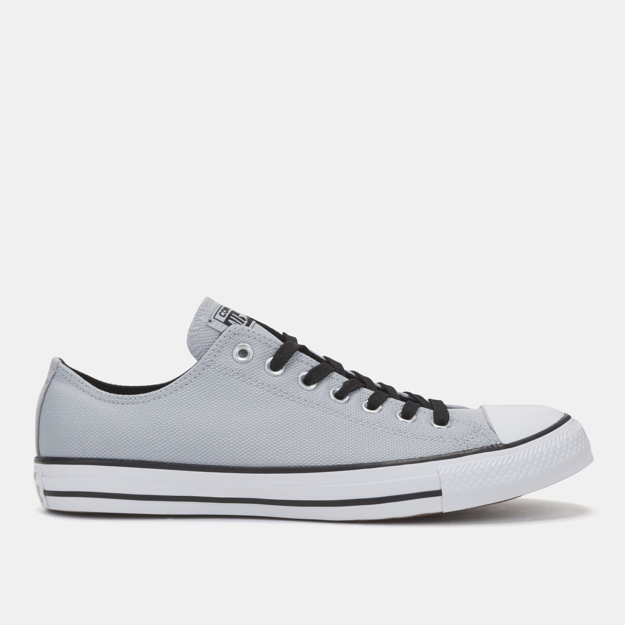 Shop Grey Converse Chuck Taylor All Star Core Oxford Shoe for Unisex ... 299ac7701