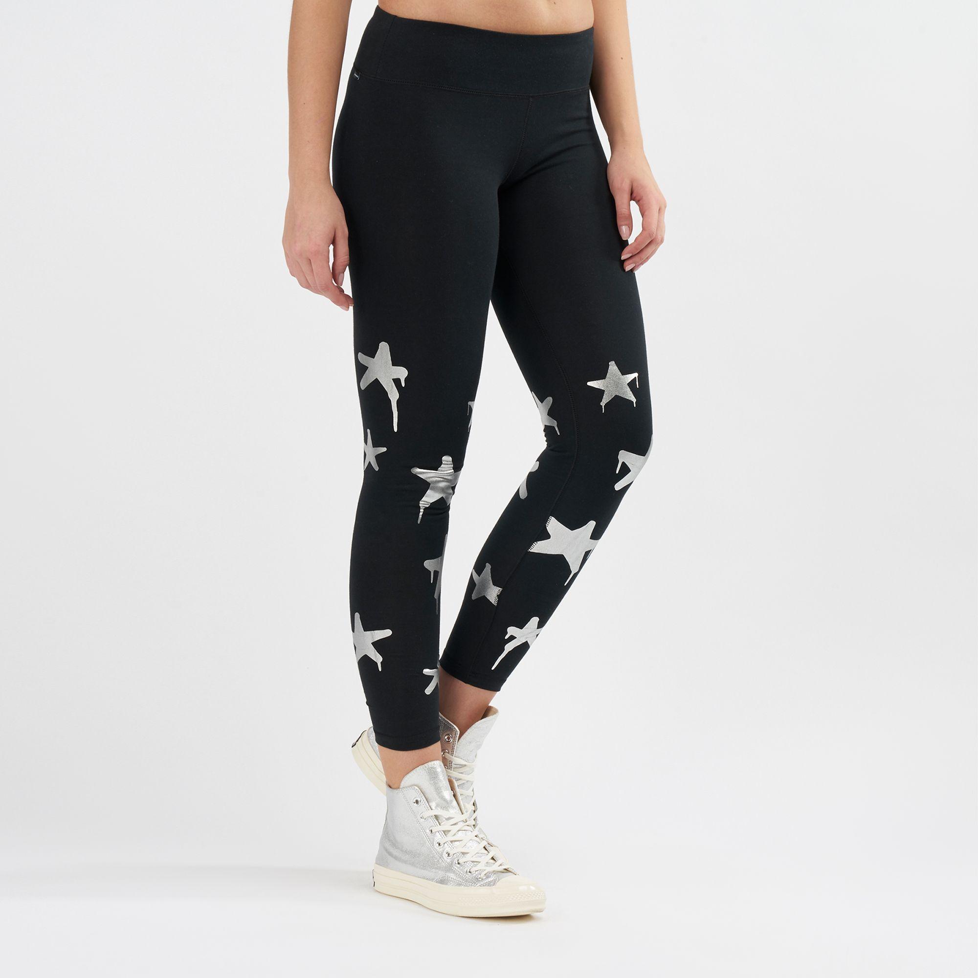3bbe82815821 Converse Star Print Leggings