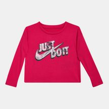 Nike Kids' Mylar Just Do It Boxy T-Shirt
