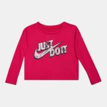 Nike Kids' Mylar Just Do It Boxy T-Shirt (Younger Kids)