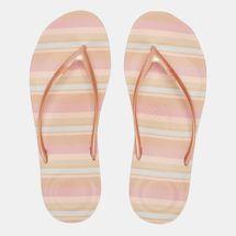 FitFlop iQushion Ergonomic Flip Flops (Stripey)