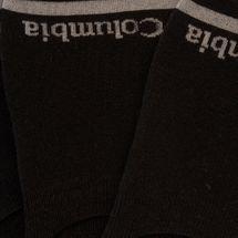 Columbia Men's Basic Liner Socks - Black, 1646916