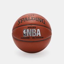 Spalding NBA Silver Indoor/Outdoor Basketball