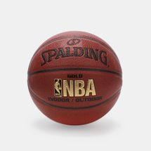 Spalding NBA Gold Indoor/Outdoor Basketball