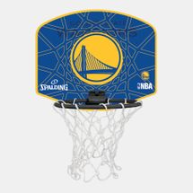 Spalding Kids' NBA Golden State Warriors Micro Mini Backboard Set
