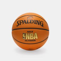 Spalding NBA Gold Outdoor Basketball