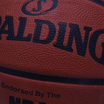 Spalding NBA Silver Outdoor Basketball - Orange, 260903
