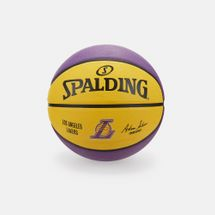Spalding NBA Team LA Lakers Rubber Basketball