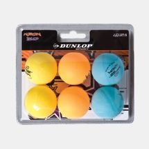Dunlop Nitro Glow Table Tennis Balls (6 Pack)
