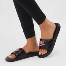 Nike Benassi Just Do It Slide Sandals Black
